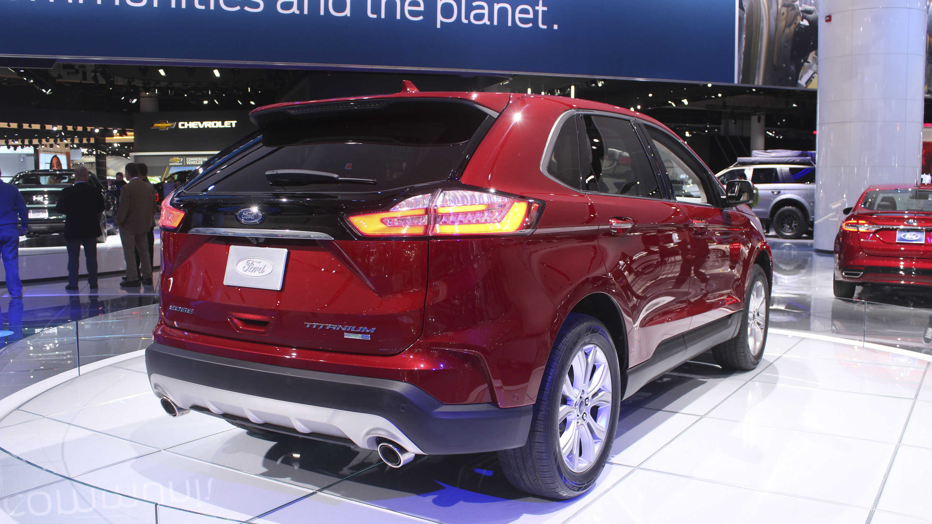 The  Ford Edge St Is Fine But The Base Model Is The Better Buy Top Speed