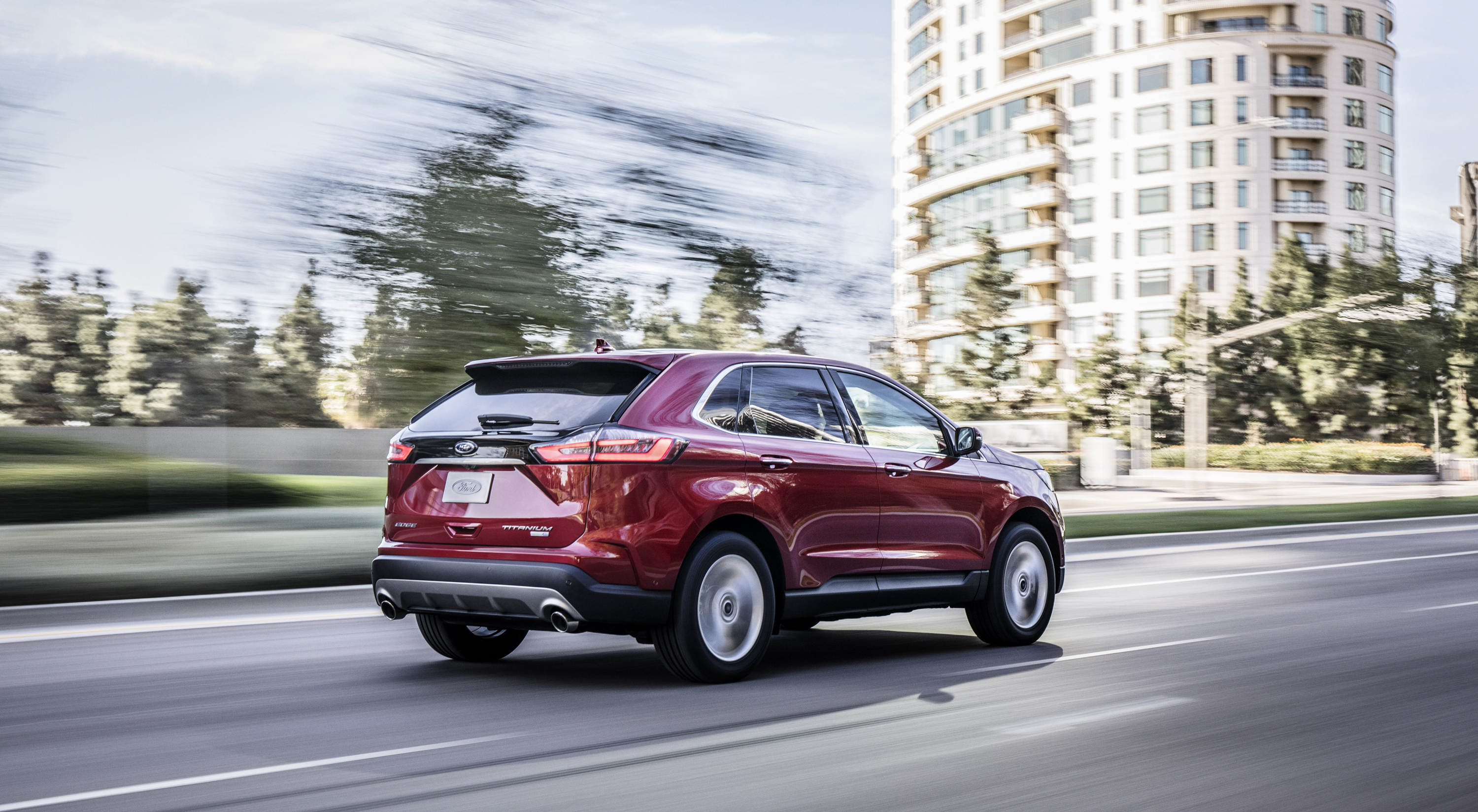 2019 ford edge top speed