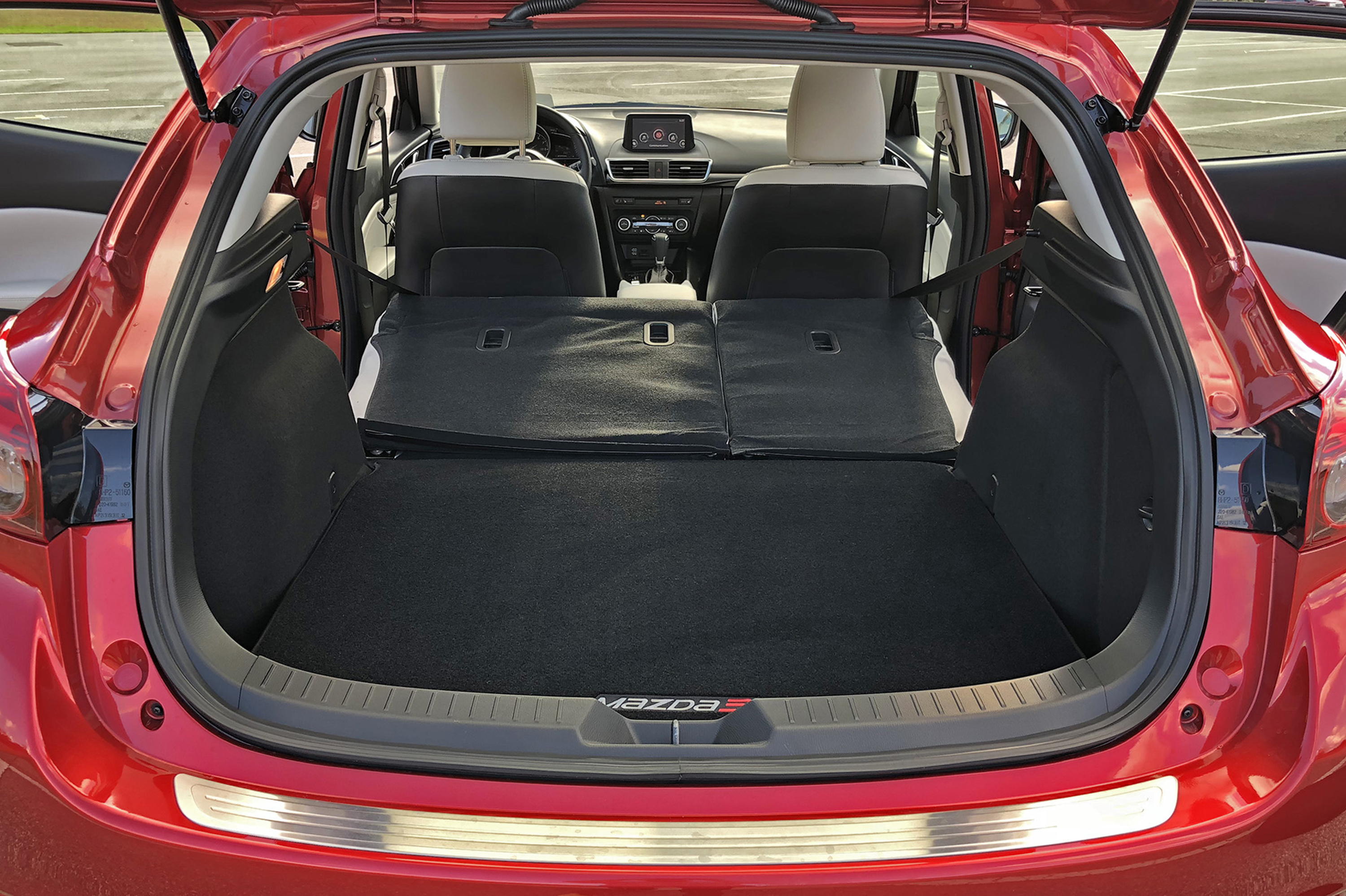 Mazda 3 Cargo Space Dimensions >> 2018 Mazda3 Grand Touring Driven Top Speed