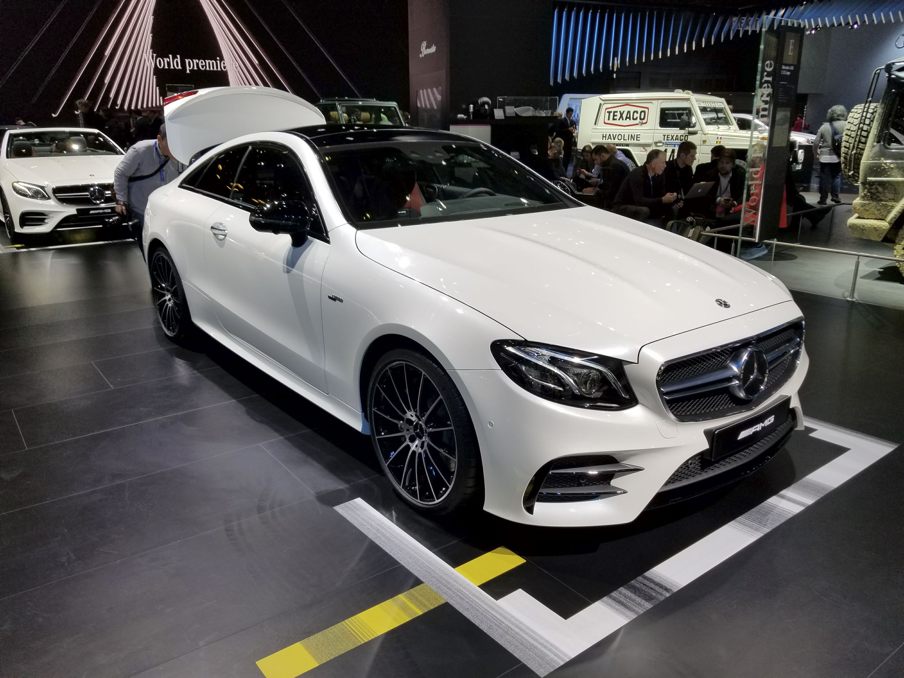 Mercedes-AMG E53 Coupe Hits Detroit As The Most Powerful Two-Door E ...