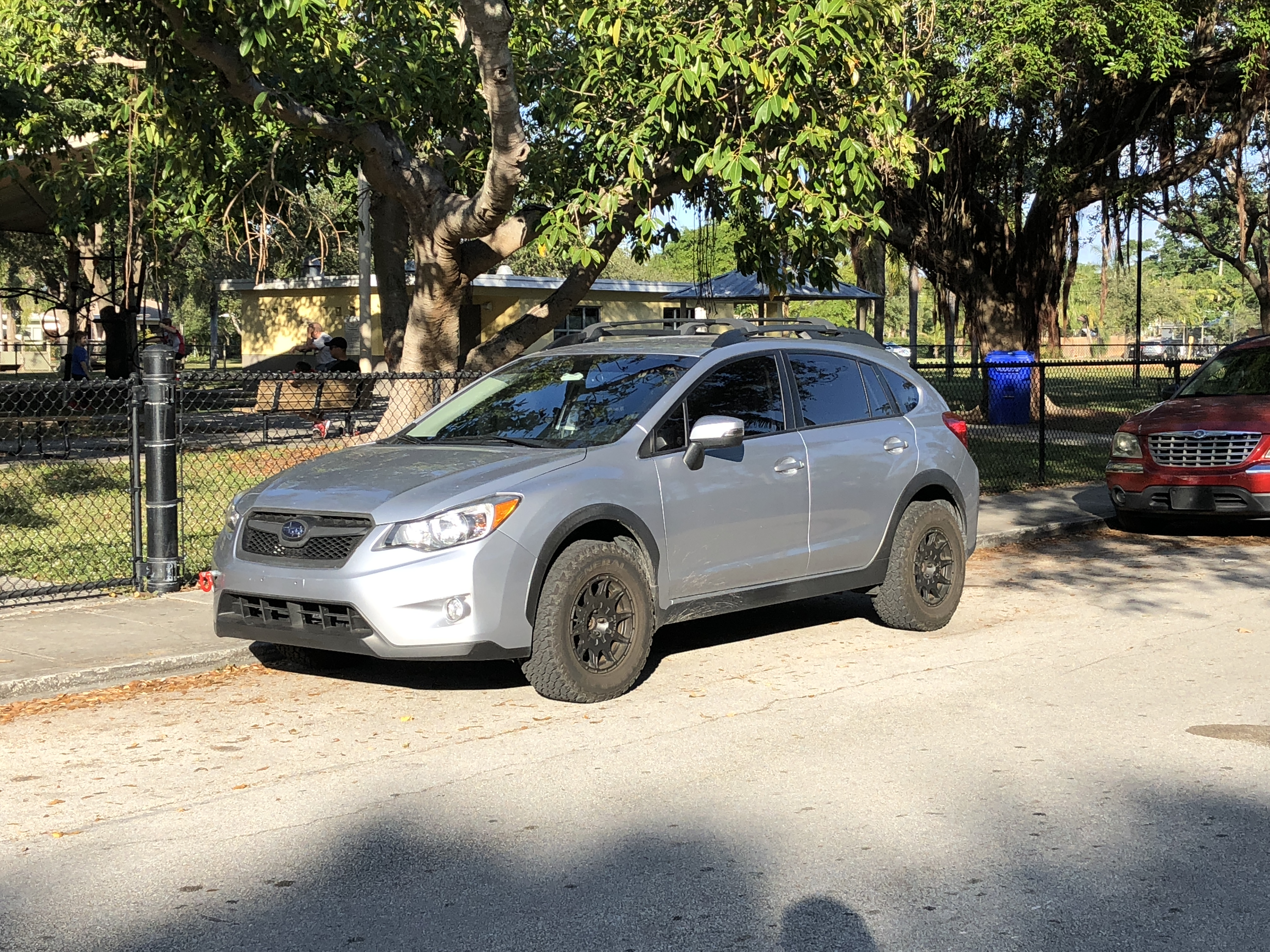 Subaru Crosstrek Off Road >> Rally Wheels And Knobby Rubber Make For Quite The Off Road