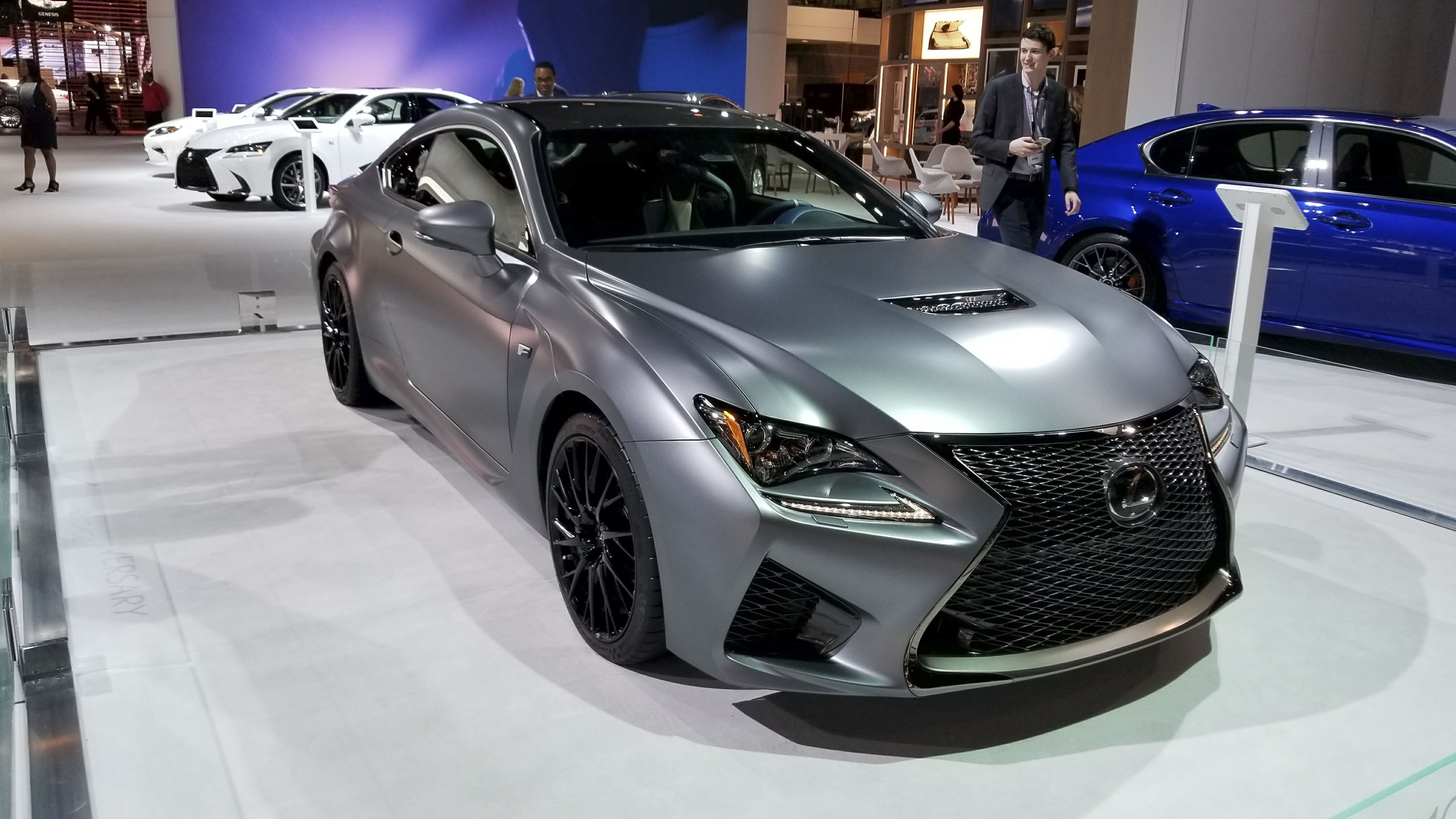 10 Years Of Lexus' F Series Culminates With Pair Of ...