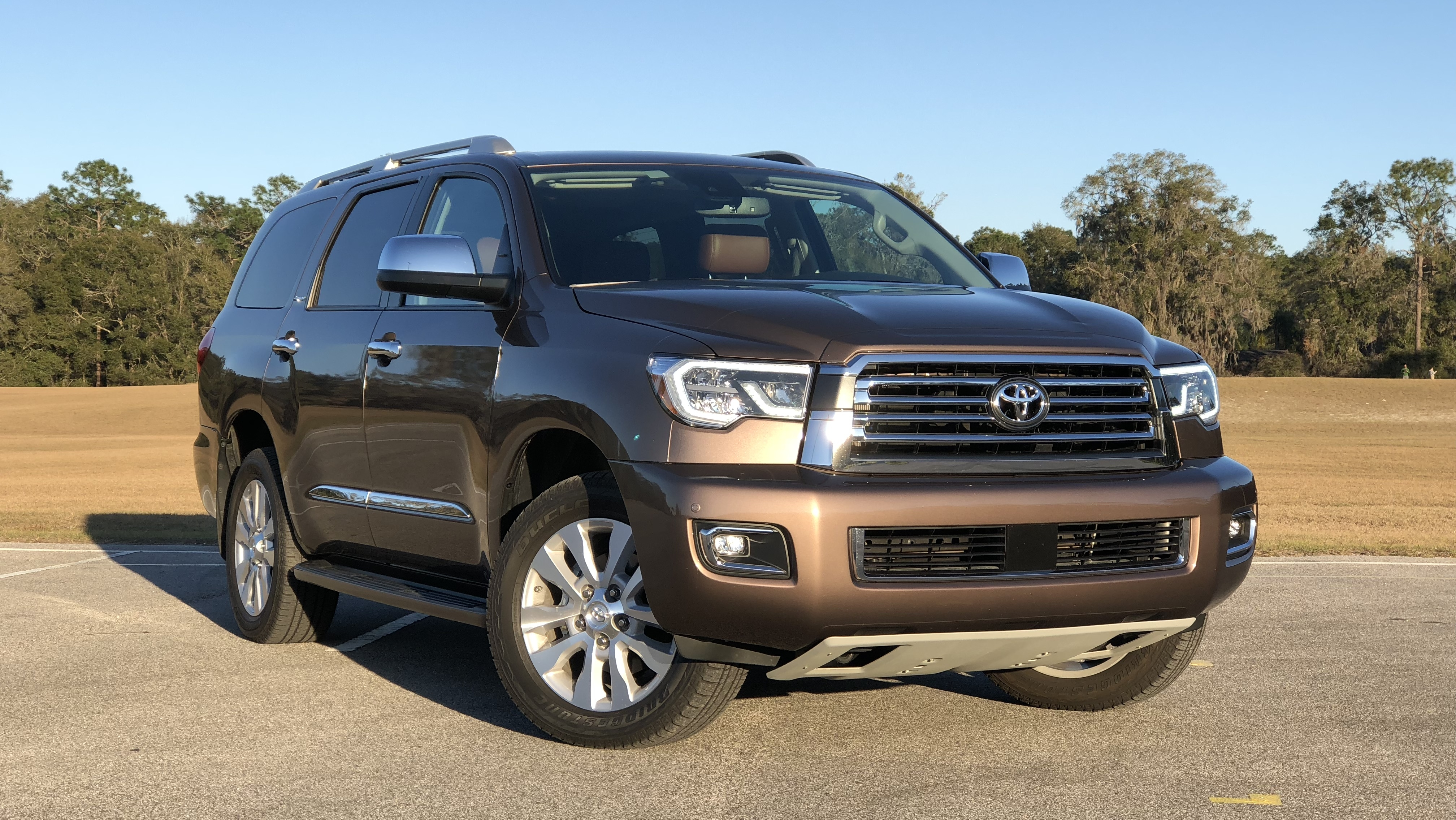 2018 toyota sequoia driven top speed. Black Bedroom Furniture Sets. Home Design Ideas