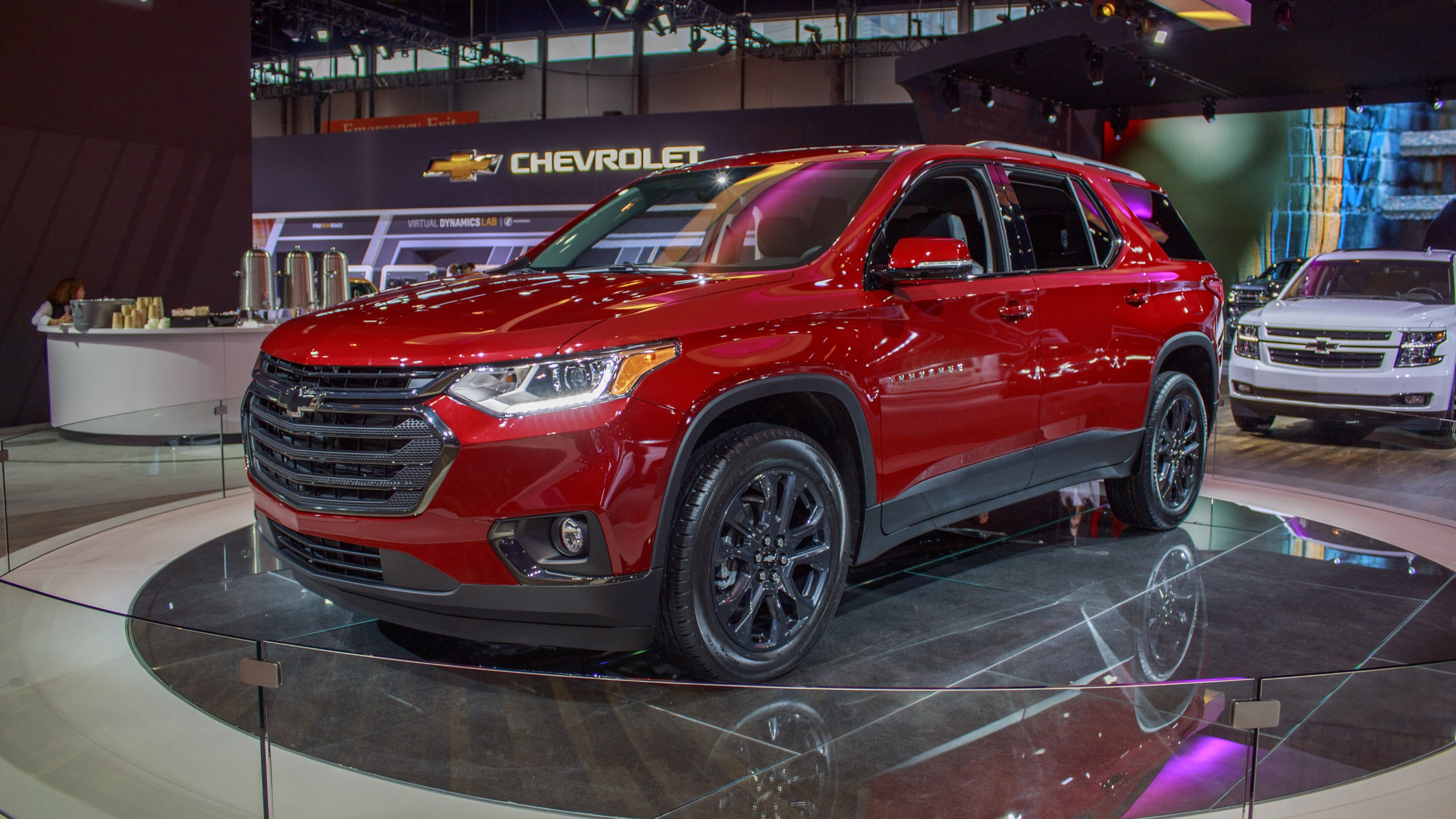 2018 Chevrolet Traverse RS | Top Speed