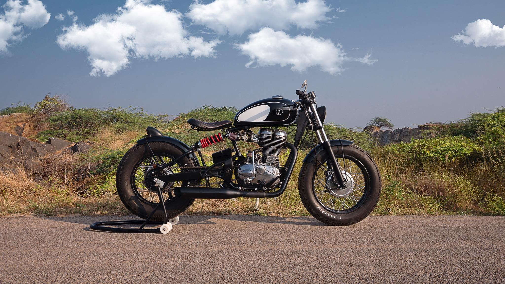 Finally Someone Made A Royal Enfield Bobber   Top Speed