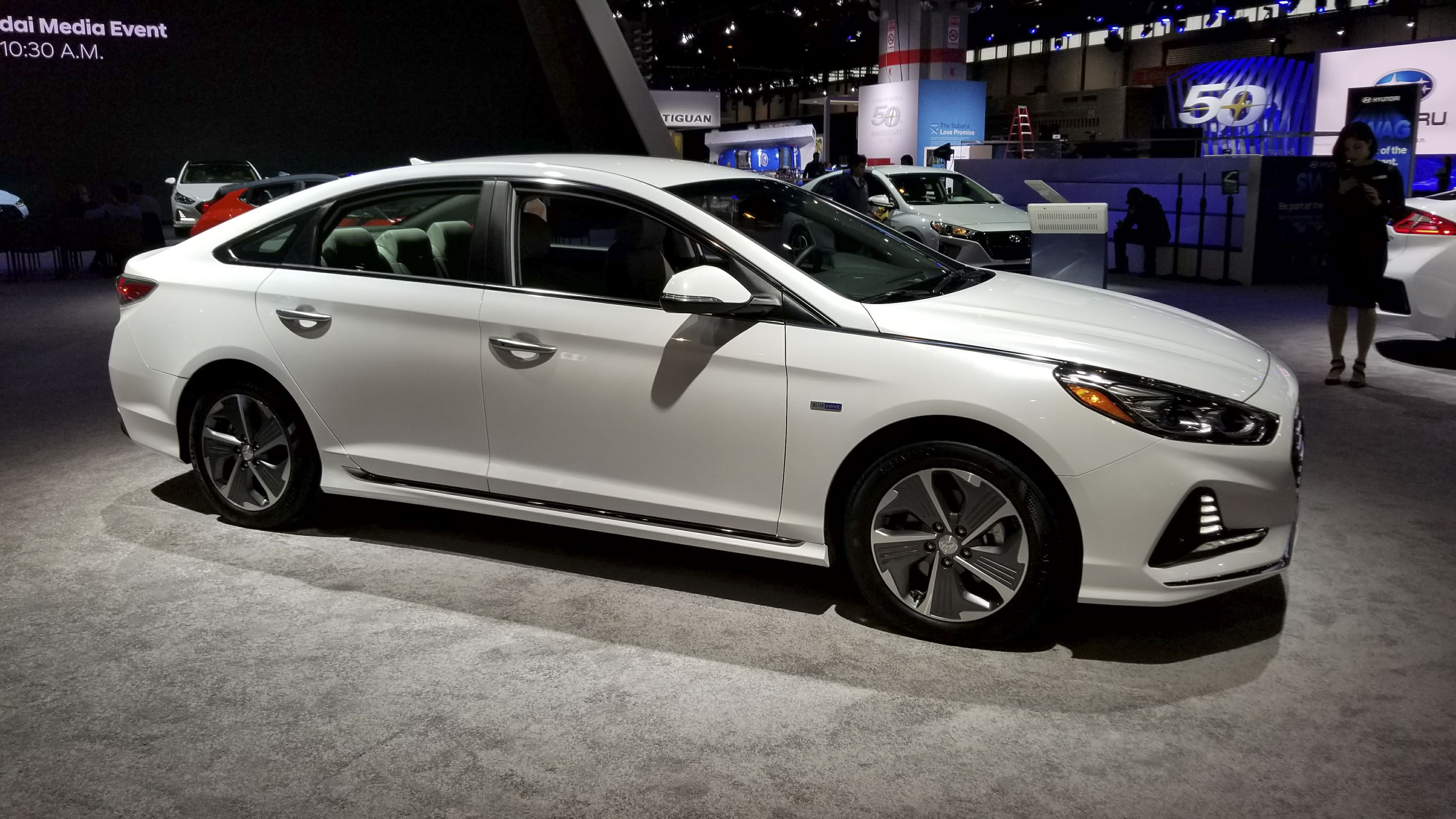 Hyundai Sonata Hybrid Gets More Power, Better Mileage In Chicago | Top  Speed. »