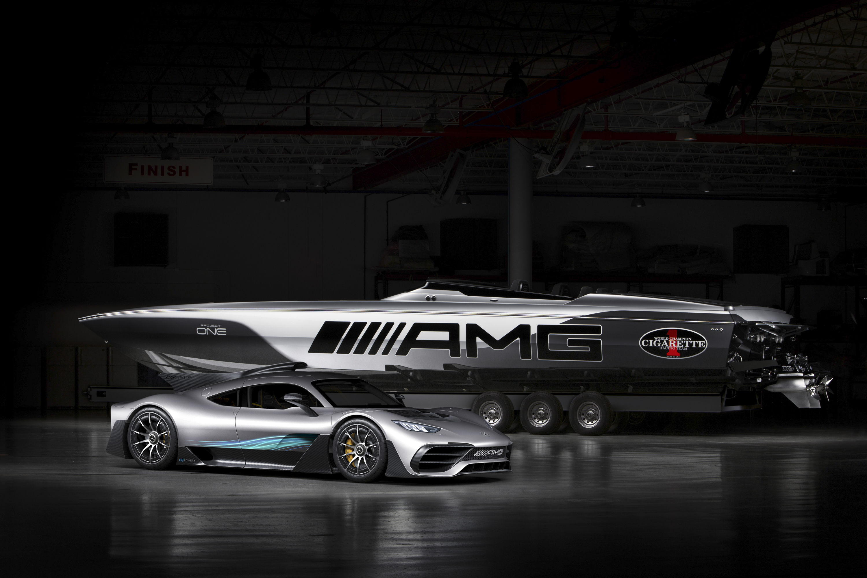 Mercedes AMG And Cigarette Racing Teamed Up Again To Bring Us The 515  Project ONE | Top Speed. »