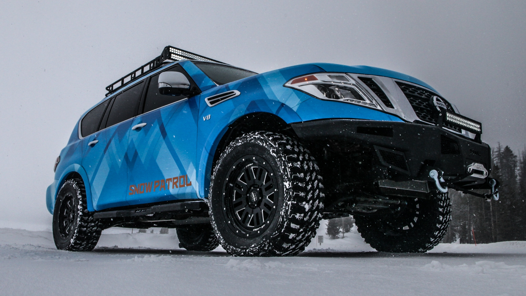 Nissan Nv Review >> 2018 Nissan Armada Snow Patrol Review - Top Speed