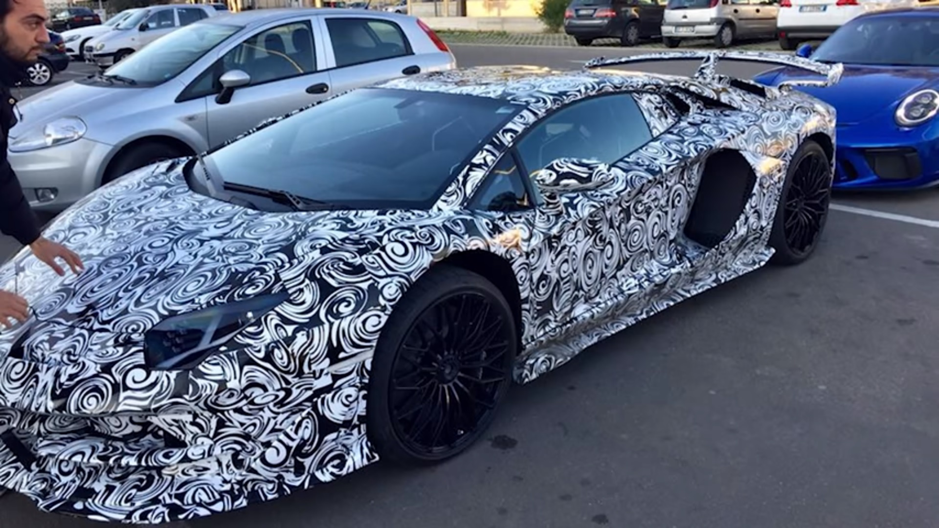 The Lamborghini Aventador Performante Has Been Spotted And