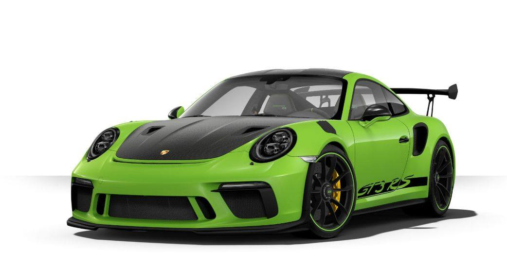 the porsche 911 gt3 rs configurator is online and boy does it have some crazy options top speed. Black Bedroom Furniture Sets. Home Design Ideas