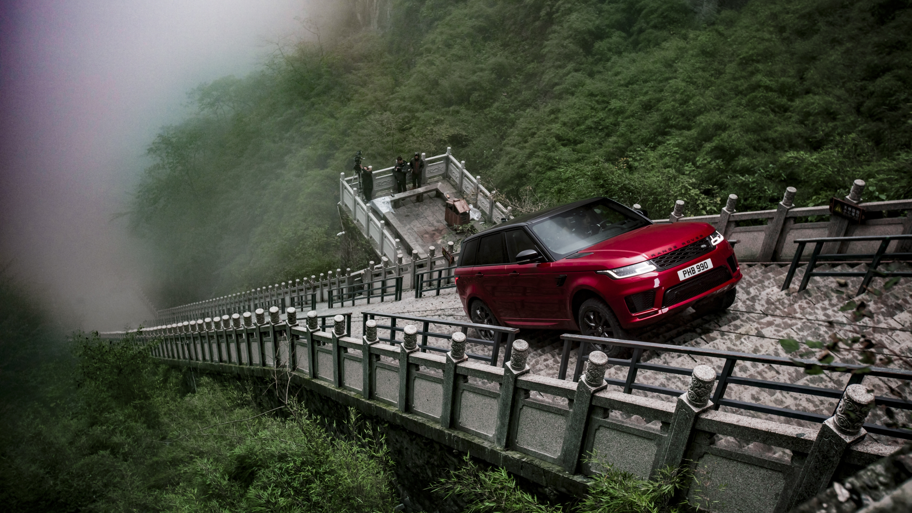 The Range Rover Sport Seriously Climbed Heaven S Gate News