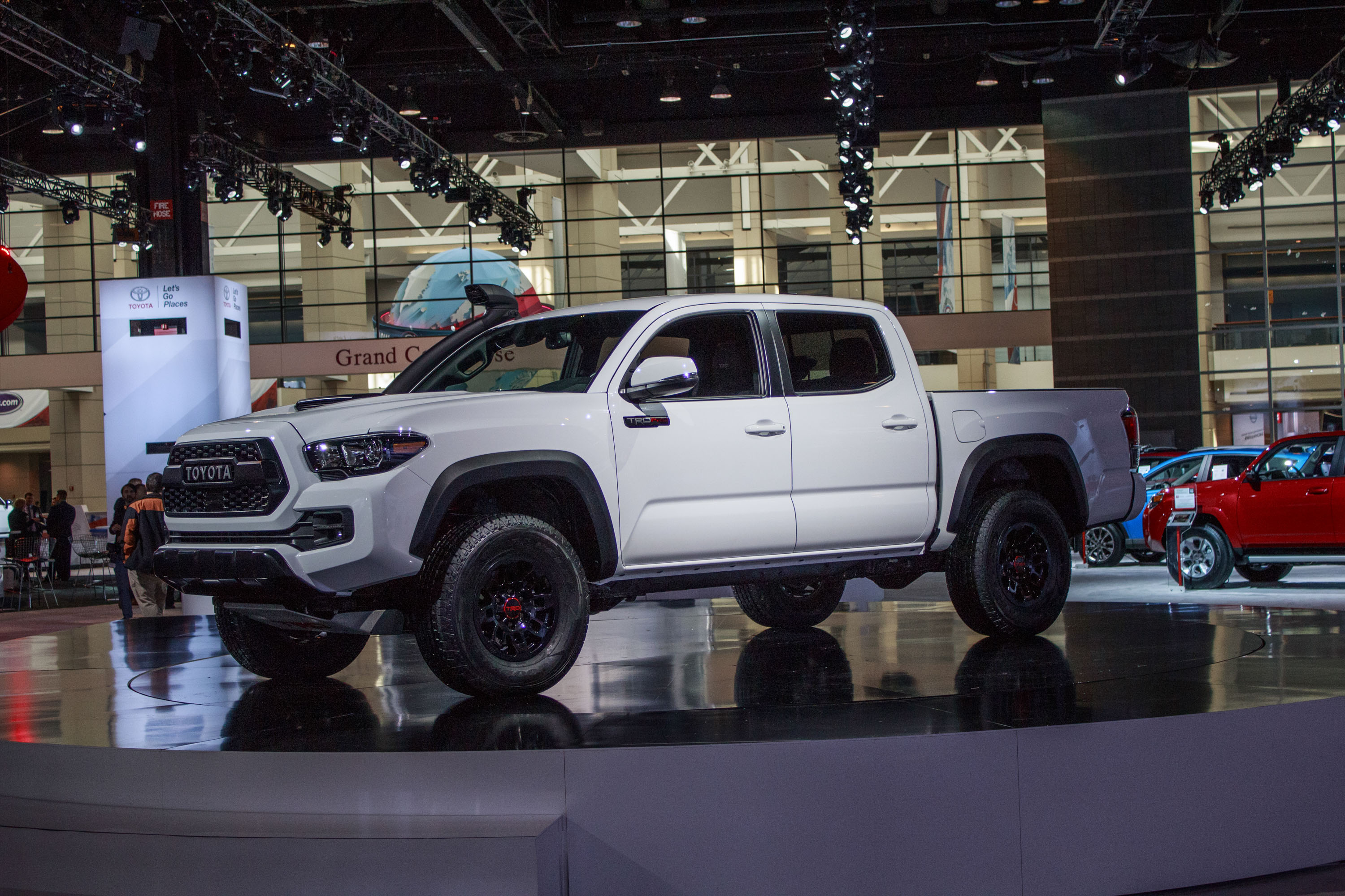2019 Toyota Tacoma Trd Pro Top Speed Long Bed Fuel Hostage Wheels