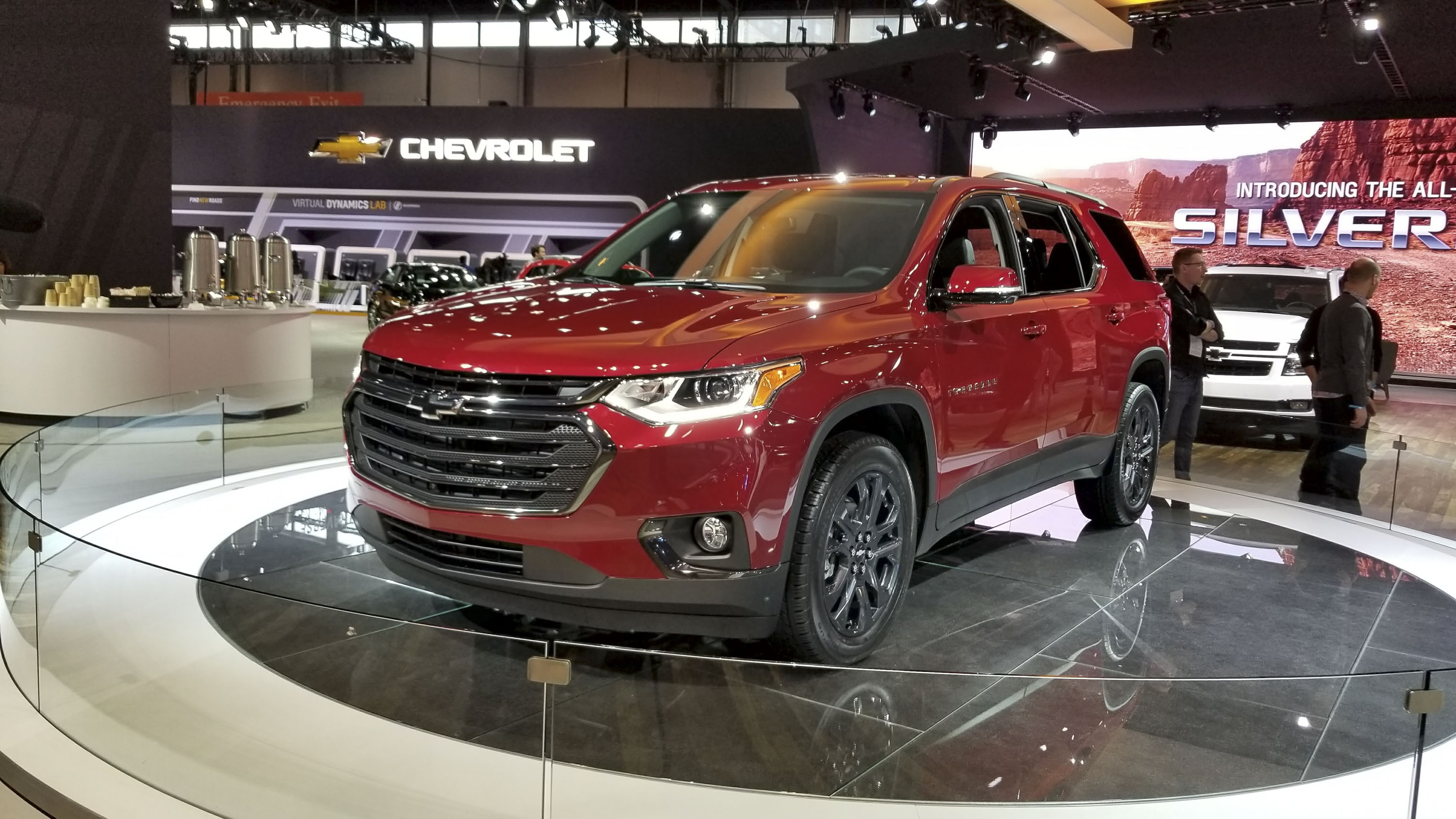 Chevy Traverse RS Looks Like The Better Daily Driver In