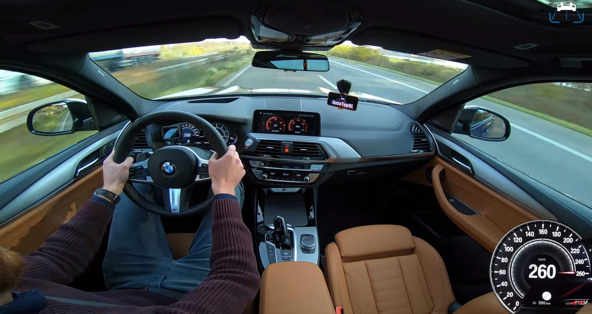 Watch This BMW X3 M40i Hit Top Speed On The Autobahn!   Top Speed
