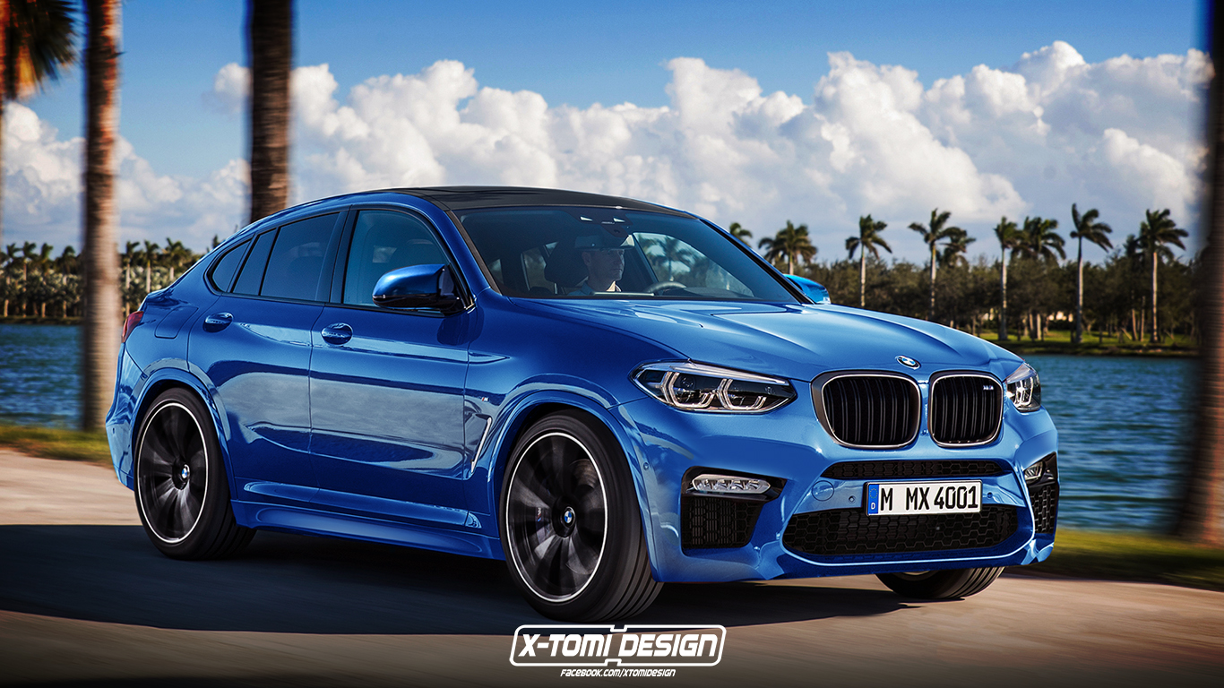 Xtomi S Rendering Of The Bmw X4m Has Us Itching For The