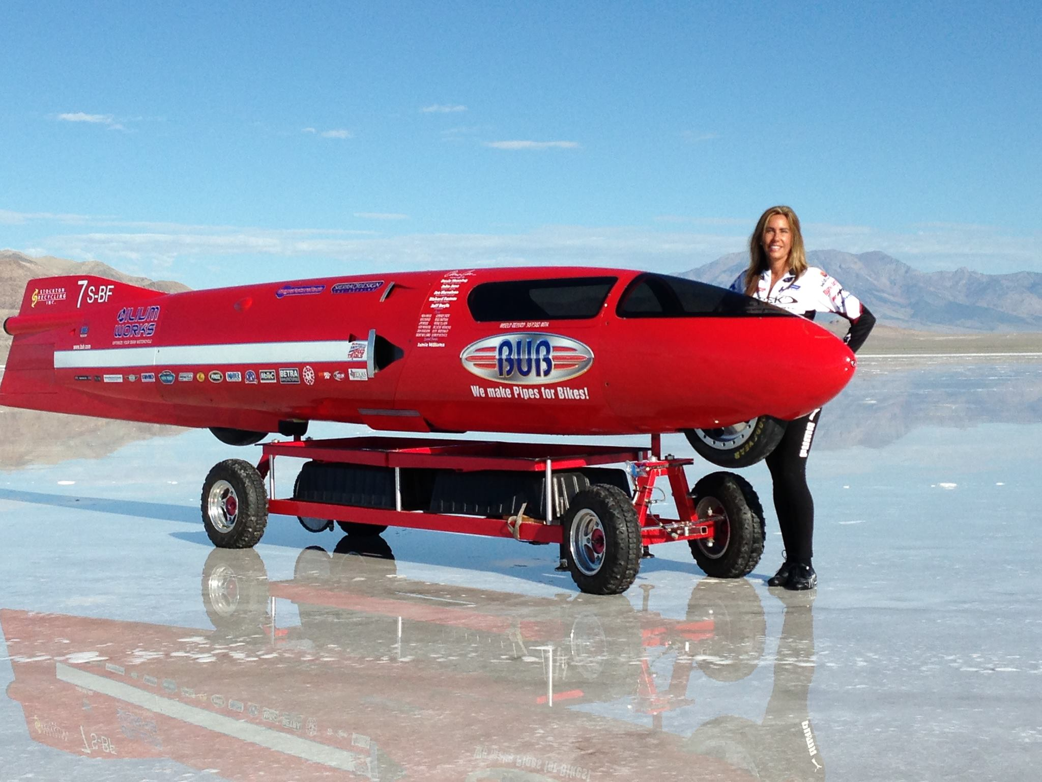 Land Speed Record >> Valerie Thompson Set To Beat The Motorcycle Land Speed Record Top