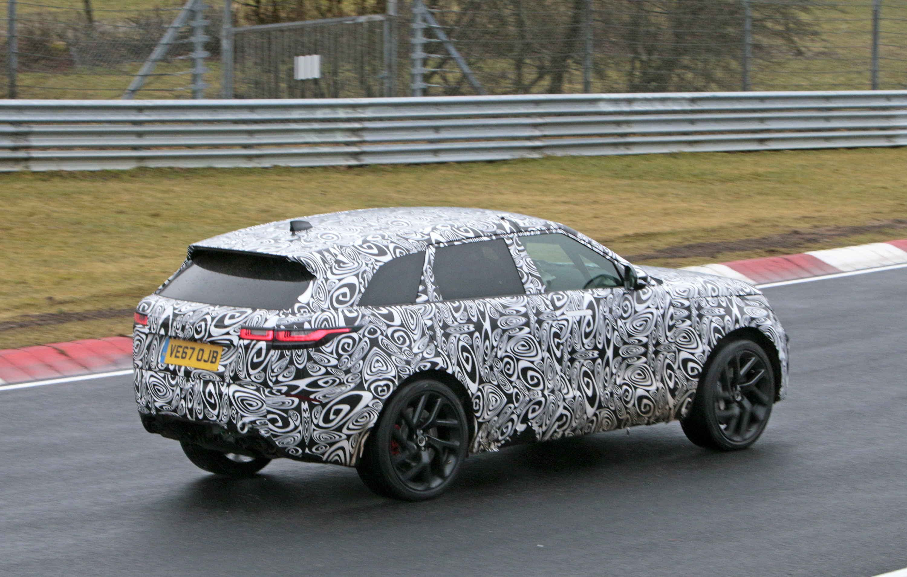 2019 Land Rover Range Rover Velar Svr Pictures Photos