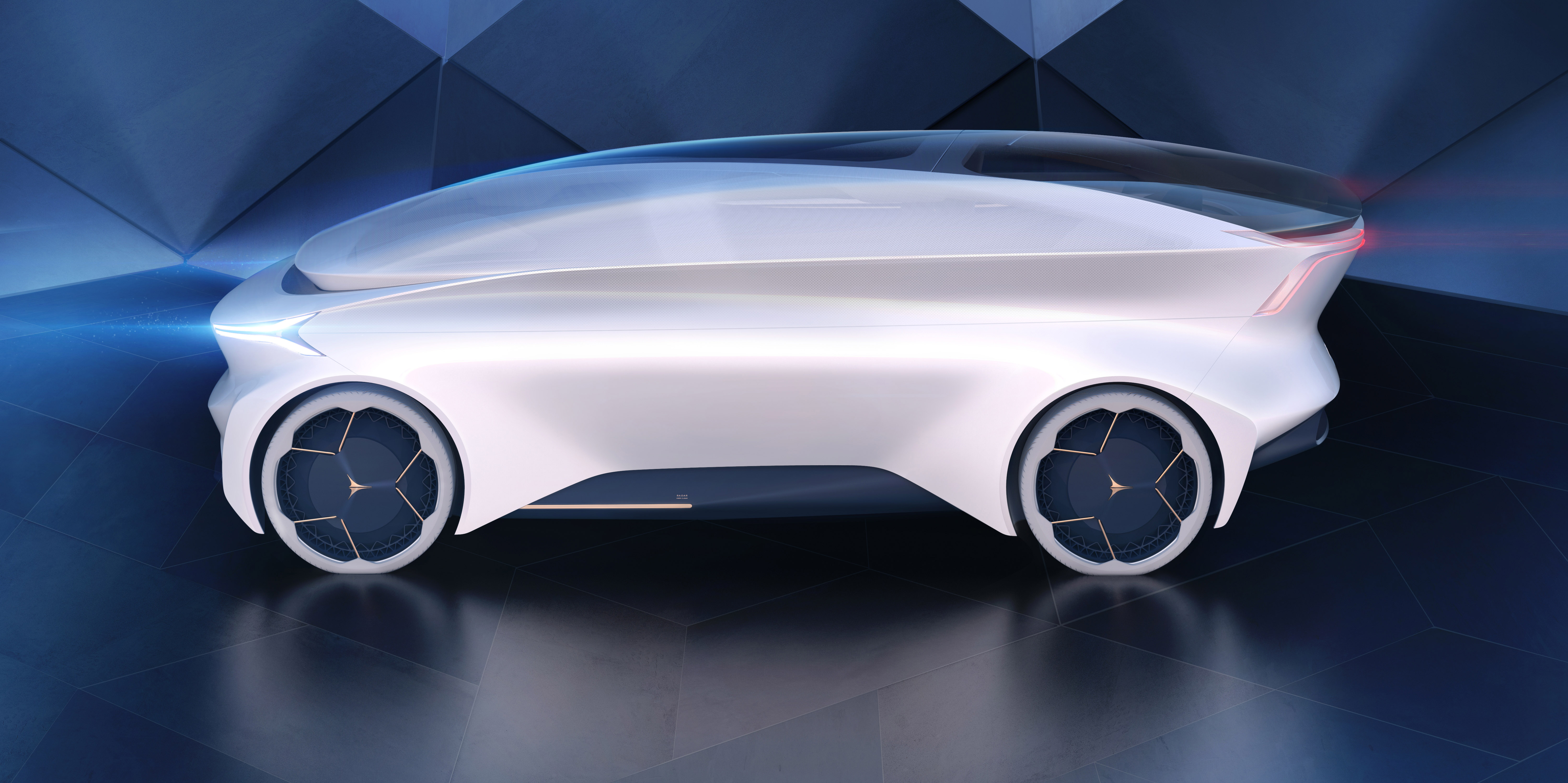 Another Self Driving Car Meet The Icona Nucleus Pictures