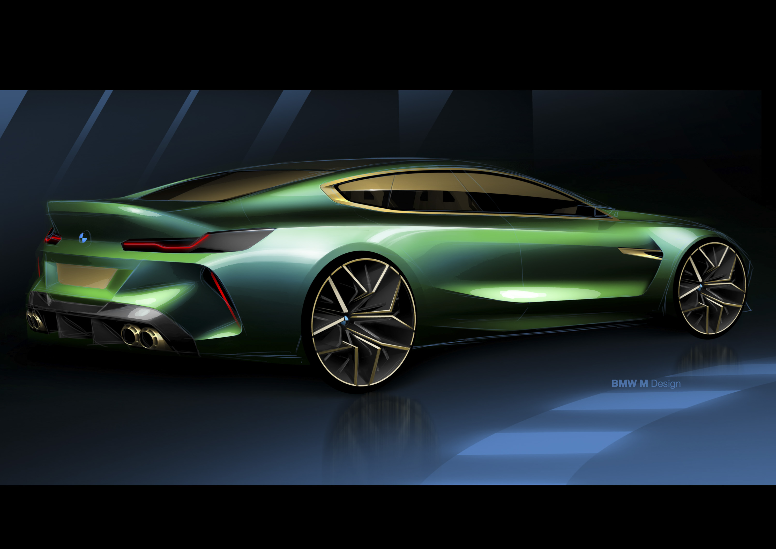 bmw continues to drag its feetdisplaying the m8 gran coupe