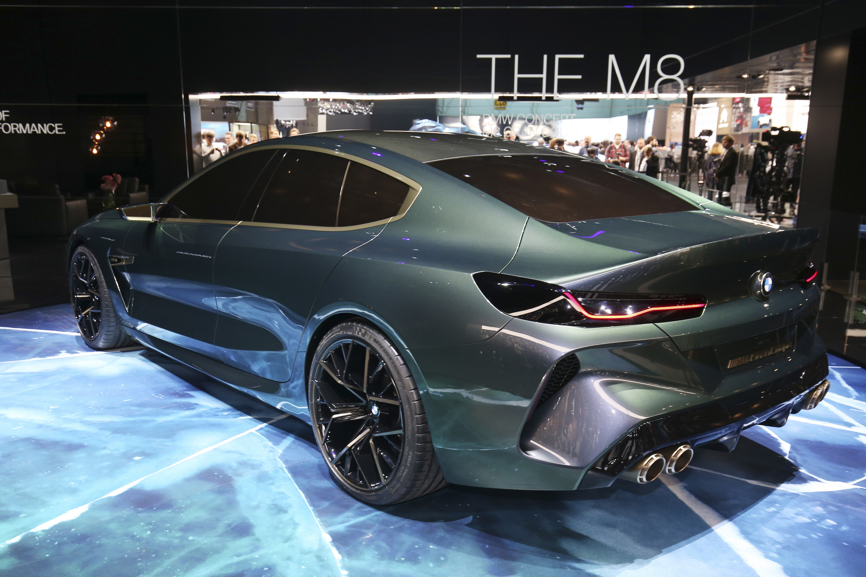 Bmw Continues To Drag Its Feet By Displaying The M8 Gran Coupe