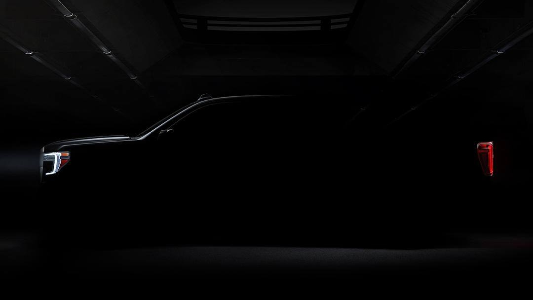 GMC Teases The 2019 GMC Sierra Taillights And Side Profile ...