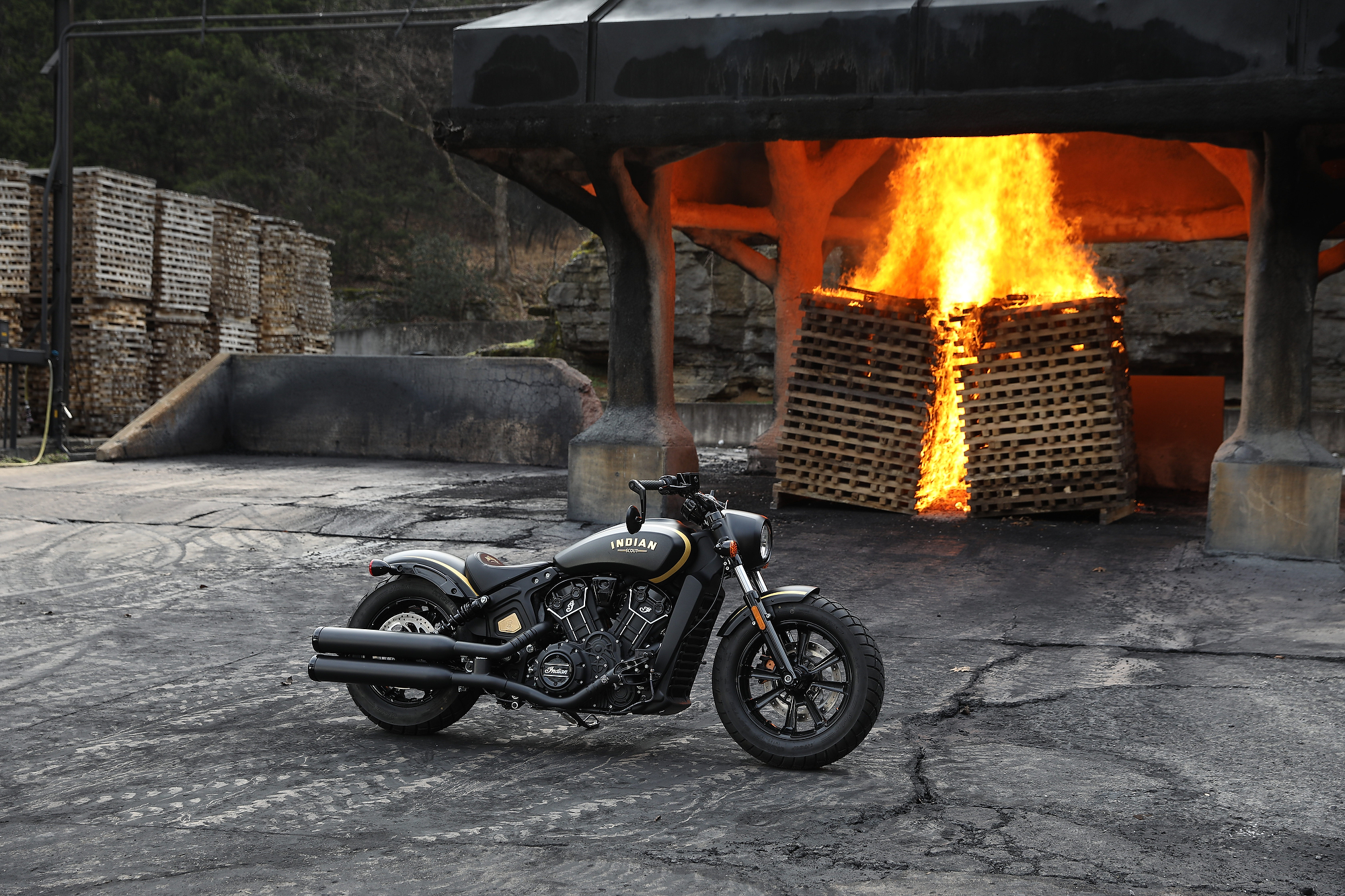 Indian Motorcycles Unveiled The Jack Daniel's Limited