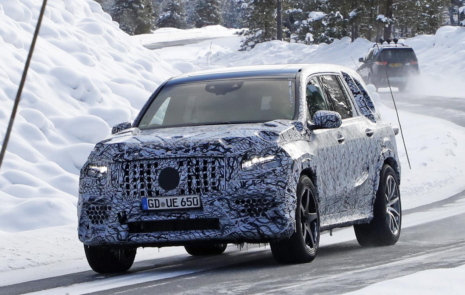 2021 Mercedes-AMG GLS 63 New Spy Photos Available >> 2020 Mercedes Amg Gls63 Top Speed