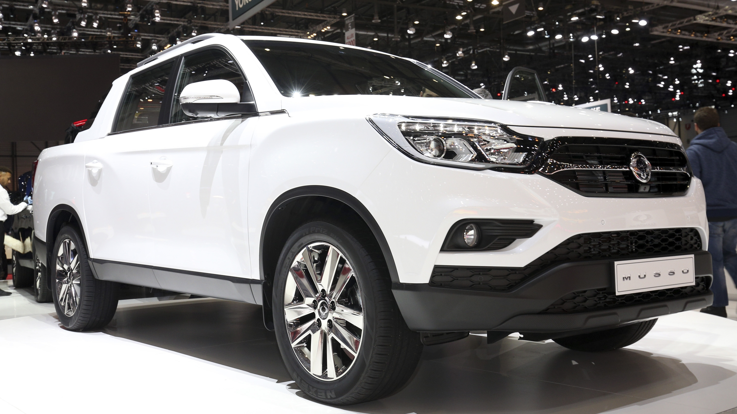 SsangYong Musso Pickup Comes To Attack European Market ...