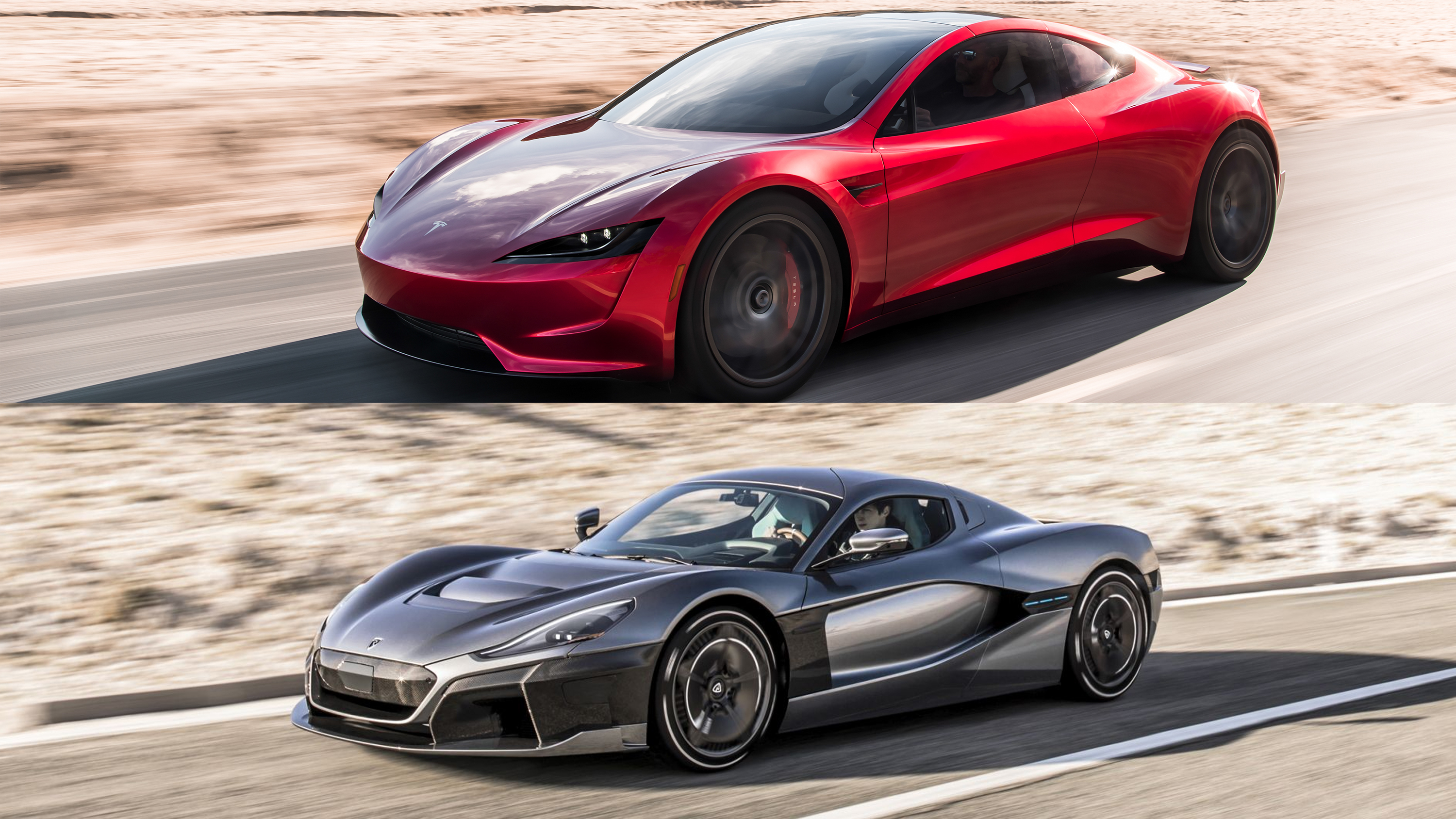 tesla roadster 2 0 vs the rimac c two did rimac just beat tesla to the punch top speed. Black Bedroom Furniture Sets. Home Design Ideas