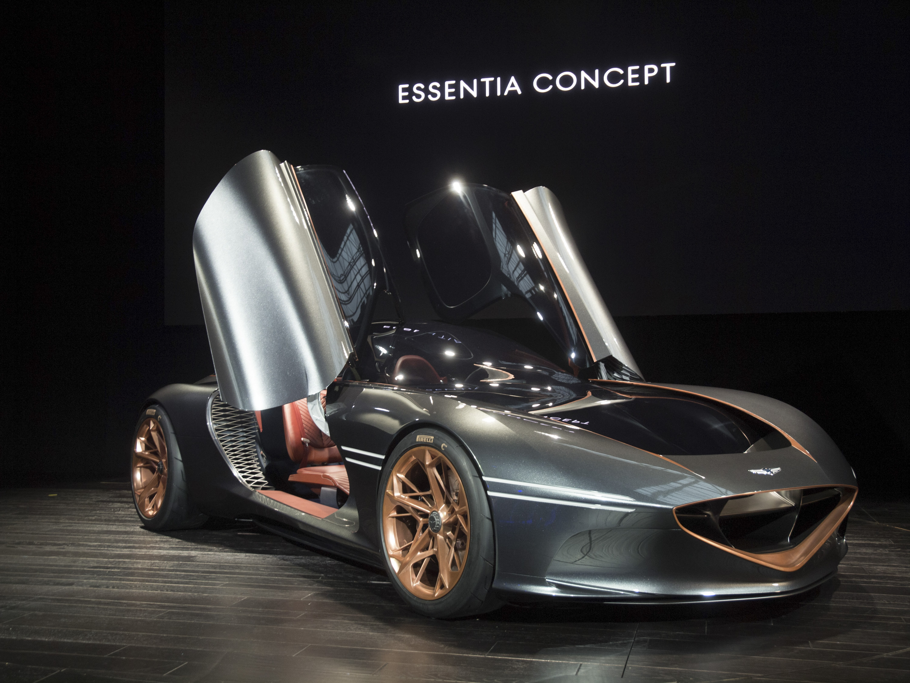 If Genesis Boss Has His Way The Essentia Concept Will Make It To