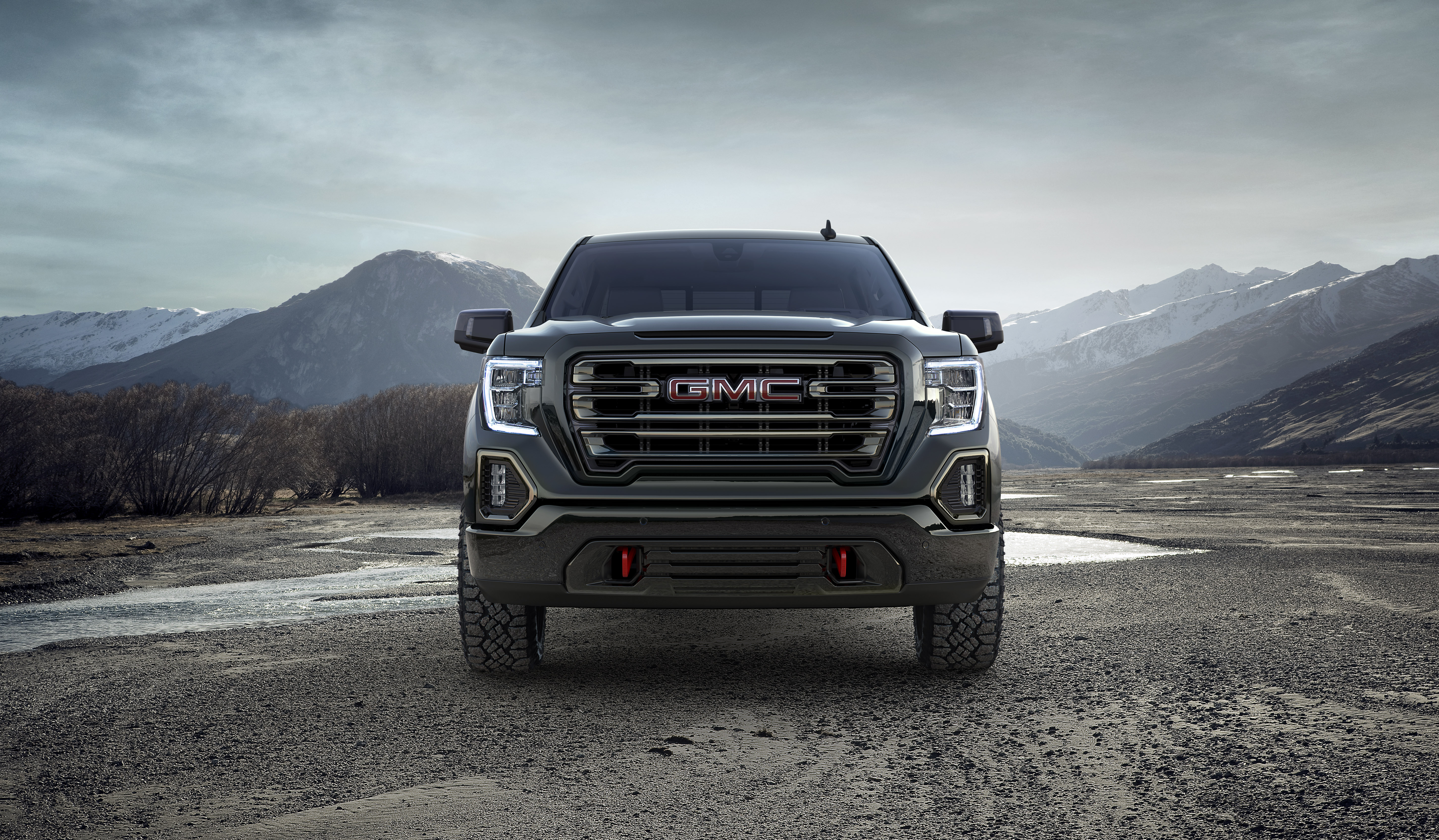 The GMC Sierra AT4 Is Here To Put The Hurt The Ford F 150 Raptor