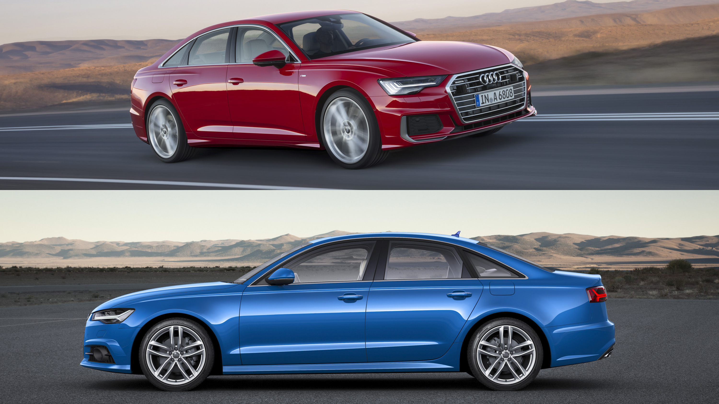 visual comparison 2018 audi a6 vs 2019 audi a6 news gallery top speed. Black Bedroom Furniture Sets. Home Design Ideas