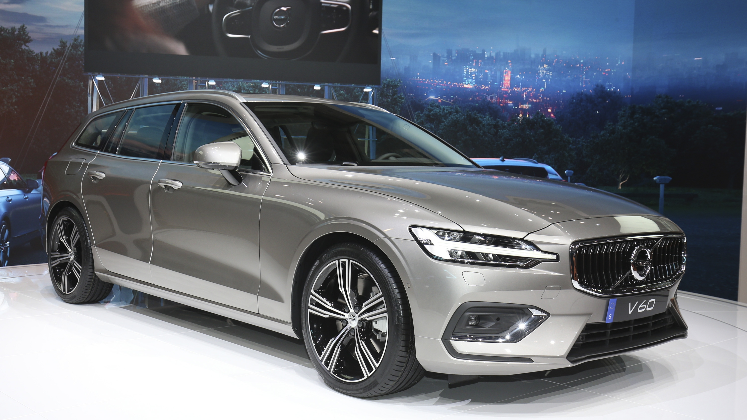 Volvo Unveiled The V60 As The BMW 3-Series Touring, Mercedes C-Class Wagon, And Audi A4 Avant ...