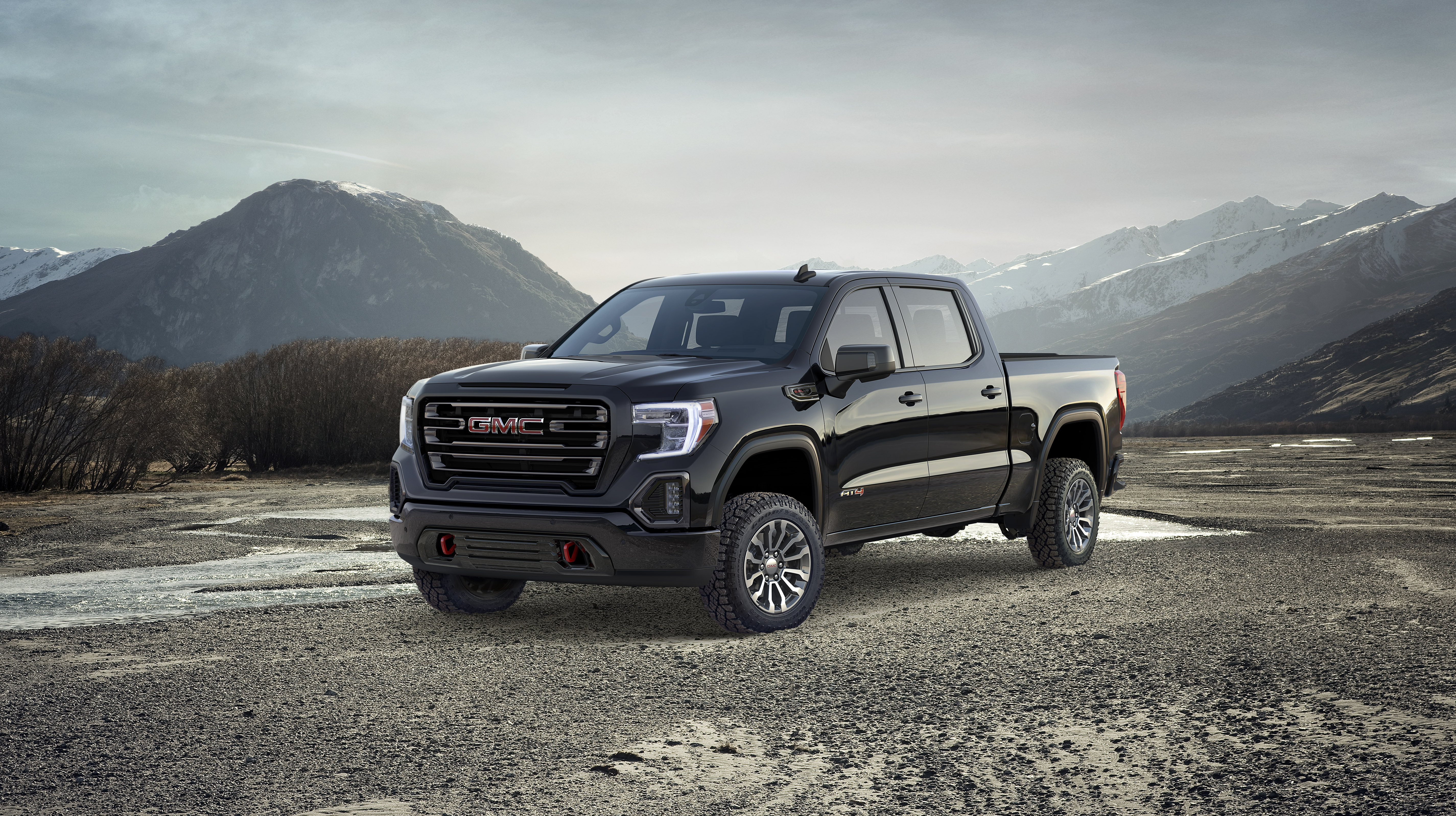 Wallpaper Of The Day 2019 GMC Sierra AT4