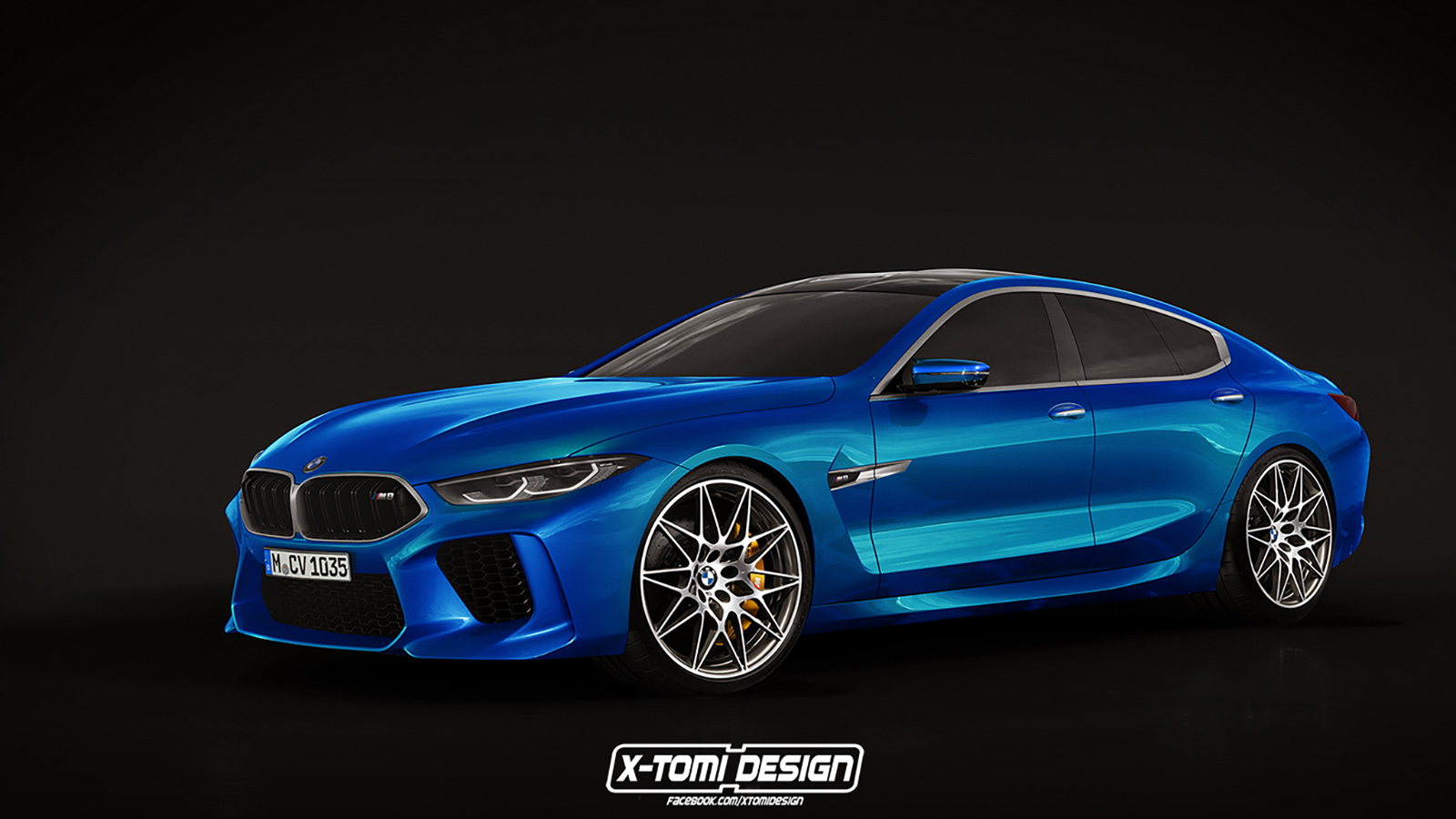 Xtomi S Rendering Of The Production Bmw M8 Gran Coupe Will