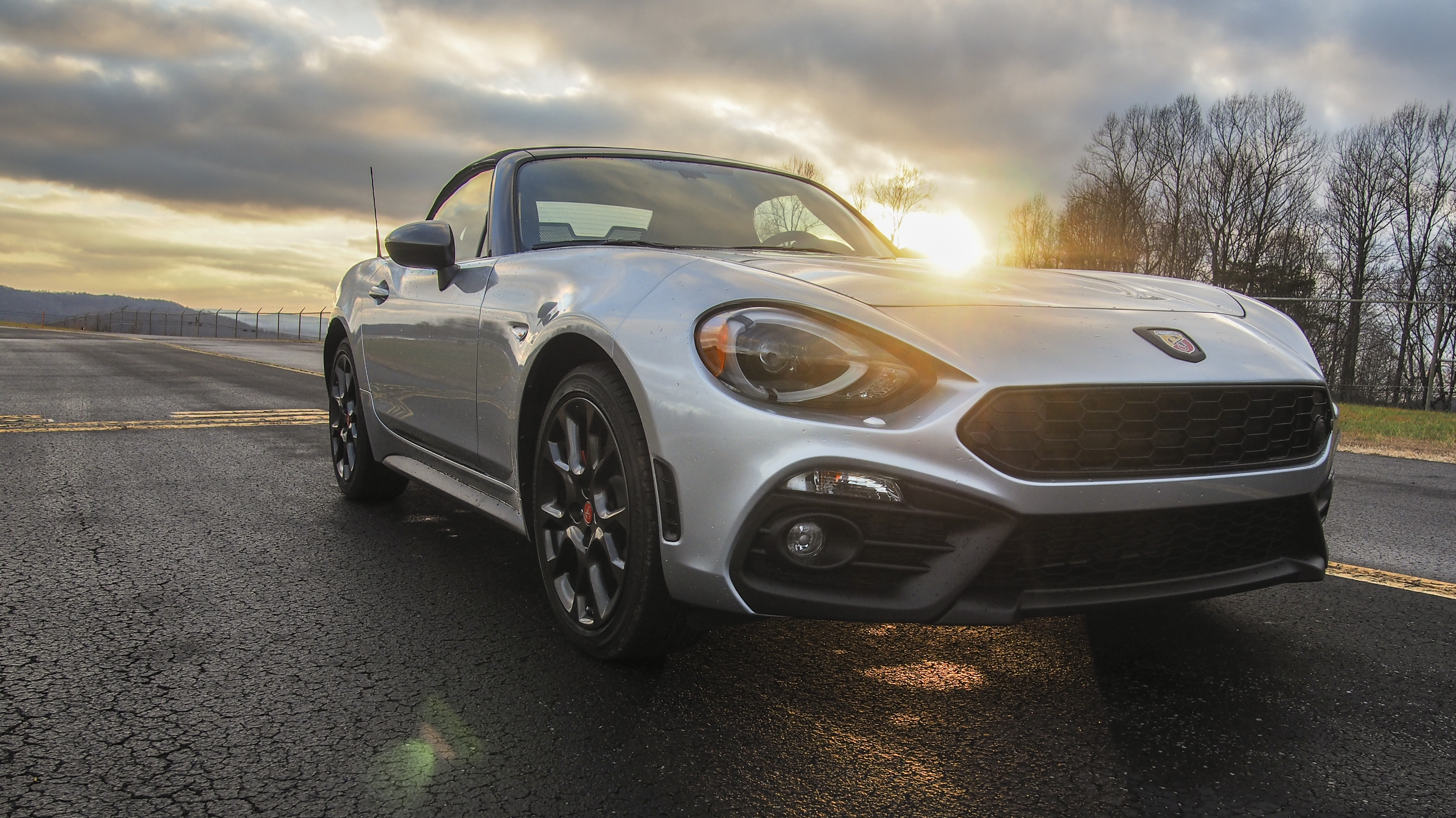 2018 Fiat 124 Spider Abarth Driven Pictures Photos