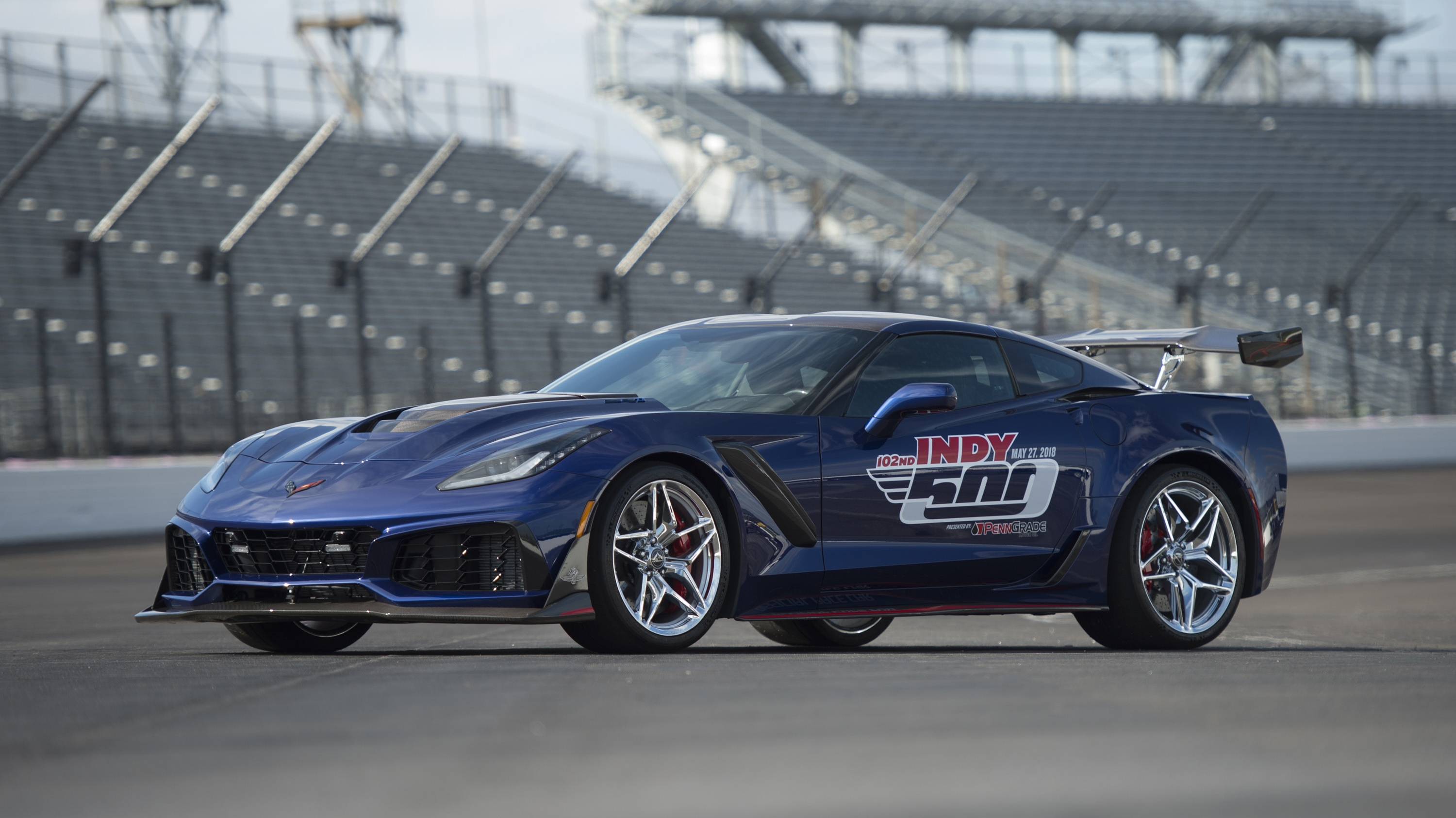 2019 chevrolet corvette zr1 to pace 102nd indianapolis 500 top speed. Black Bedroom Furniture Sets. Home Design Ideas