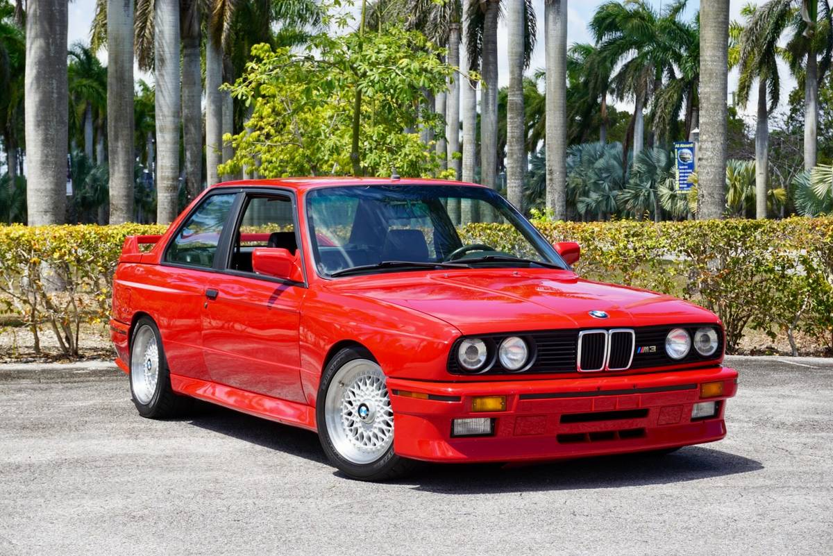 Car For Sale 1988 Bmw E30 M3 Top Speed