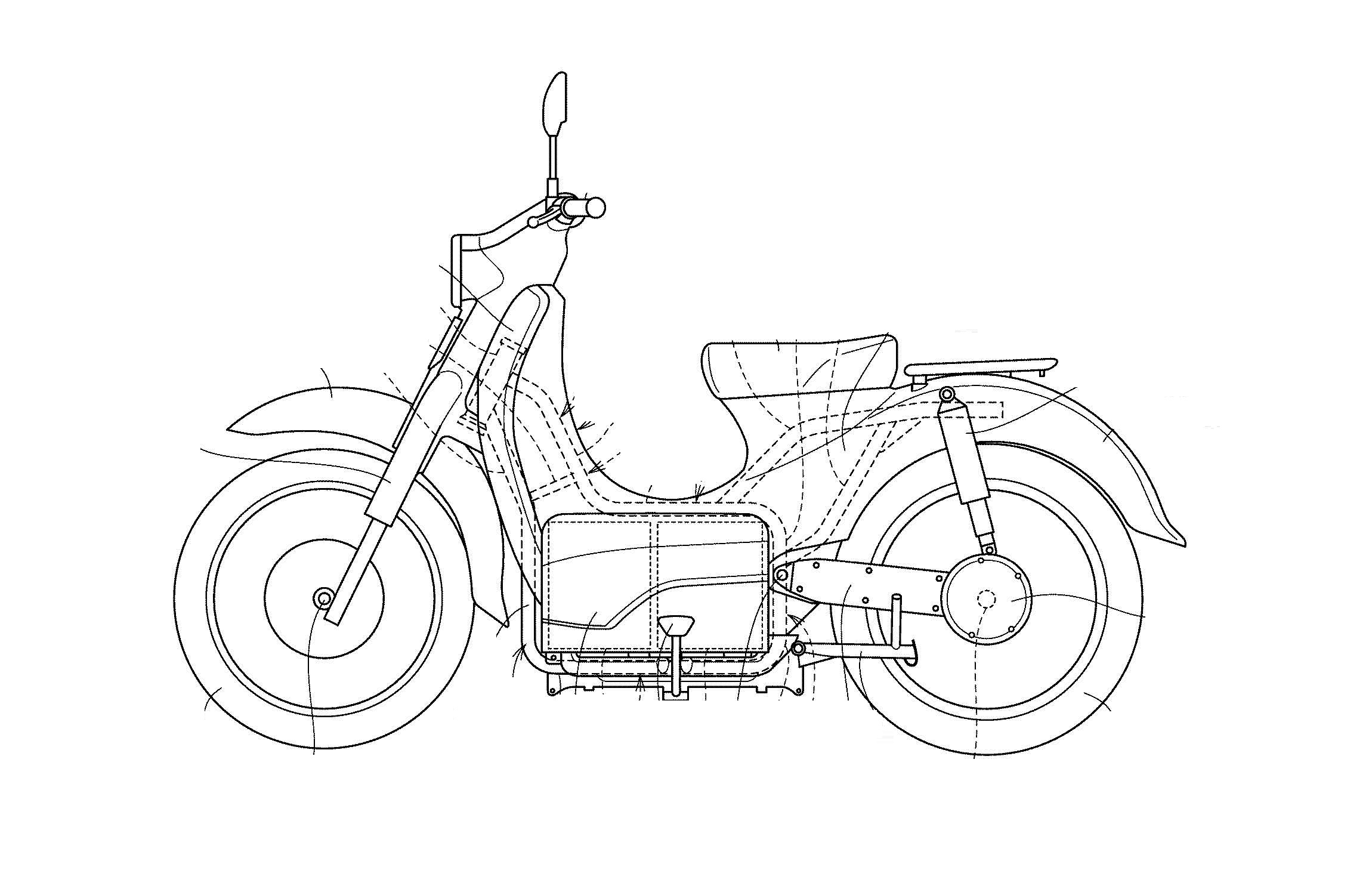 Honda Developing The Ev Cub With Swappable Batteries Top Speed