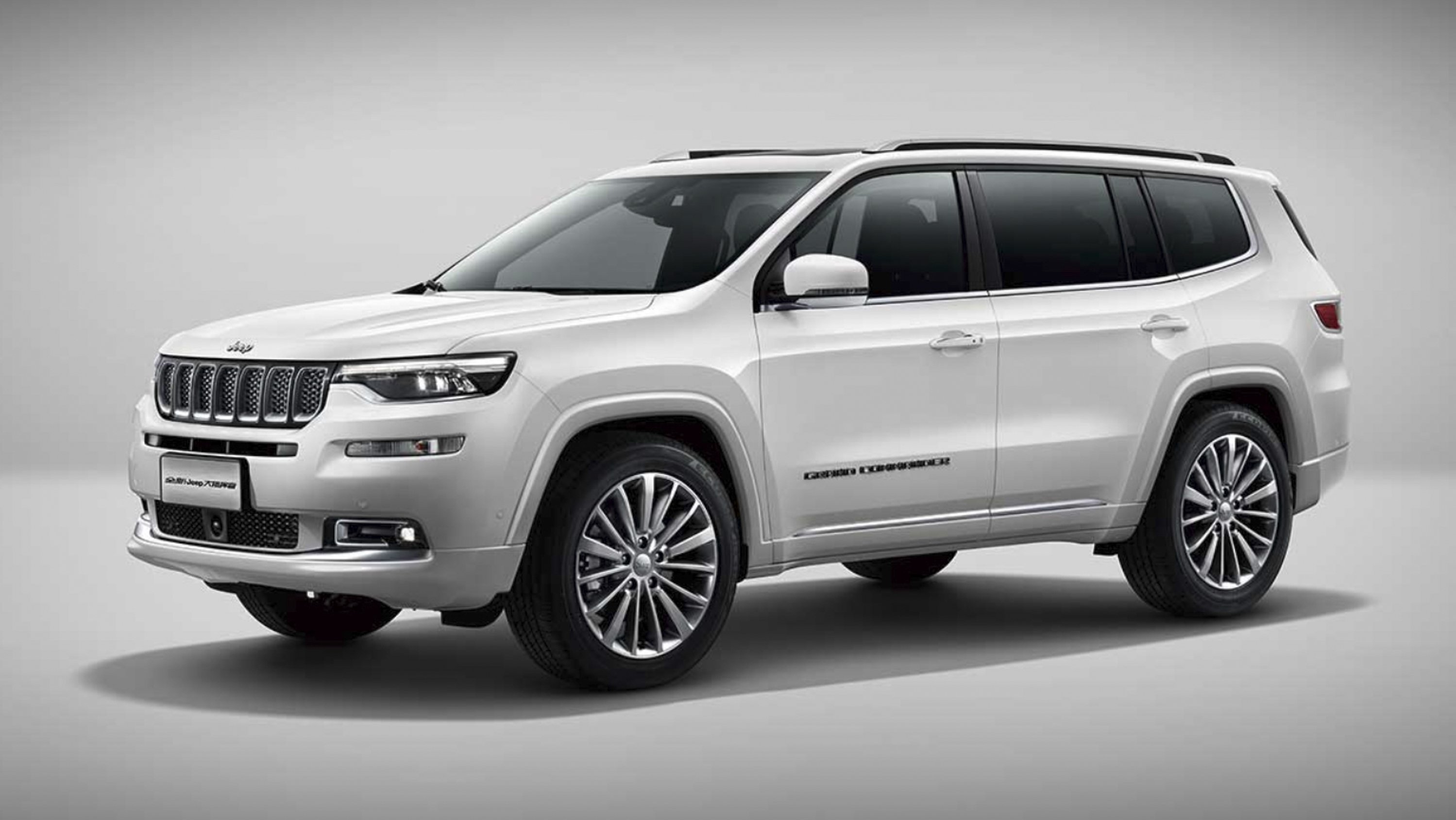 Jeep Grand Commander Debuts In China With Its Muscles ...