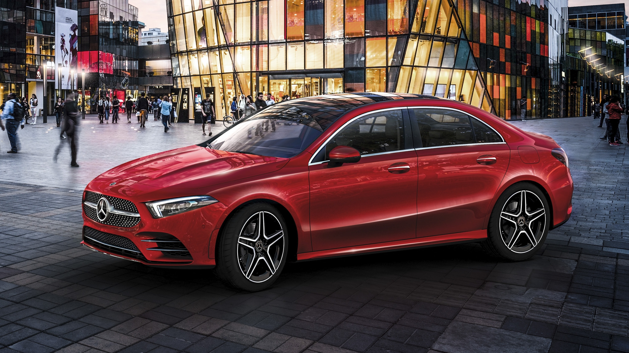 mercedes took the c class gave it a face lift and calls it the a class l in china top speed. Black Bedroom Furniture Sets. Home Design Ideas