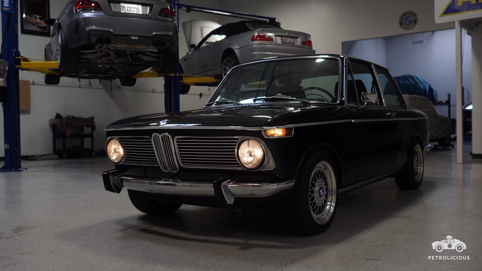 petrolicious explores a tastefully modified 39 73 bmw 2002 video top speed. Black Bedroom Furniture Sets. Home Design Ideas