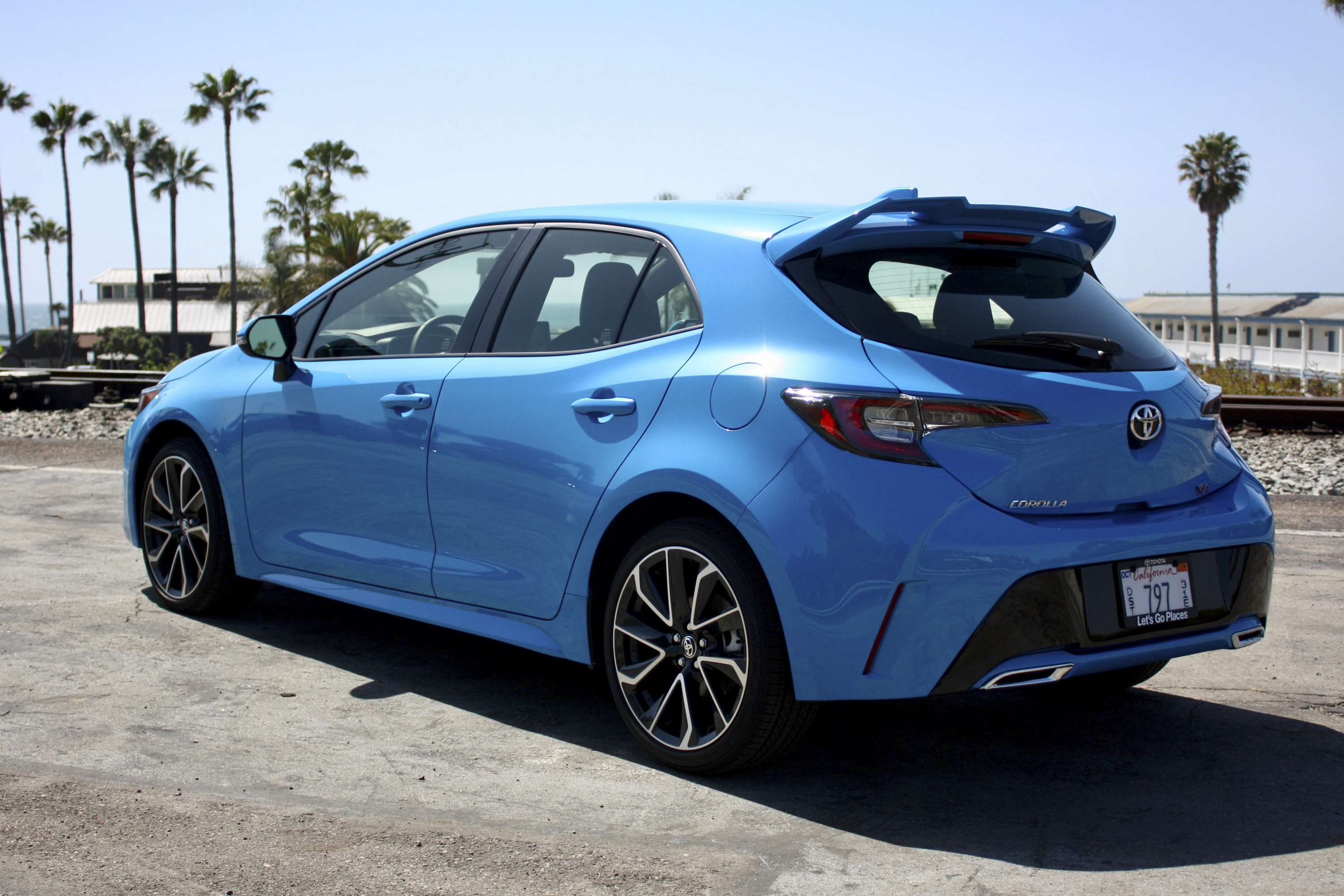 2019 2019 Toyota Corolla Hatchback Driven Top Speed