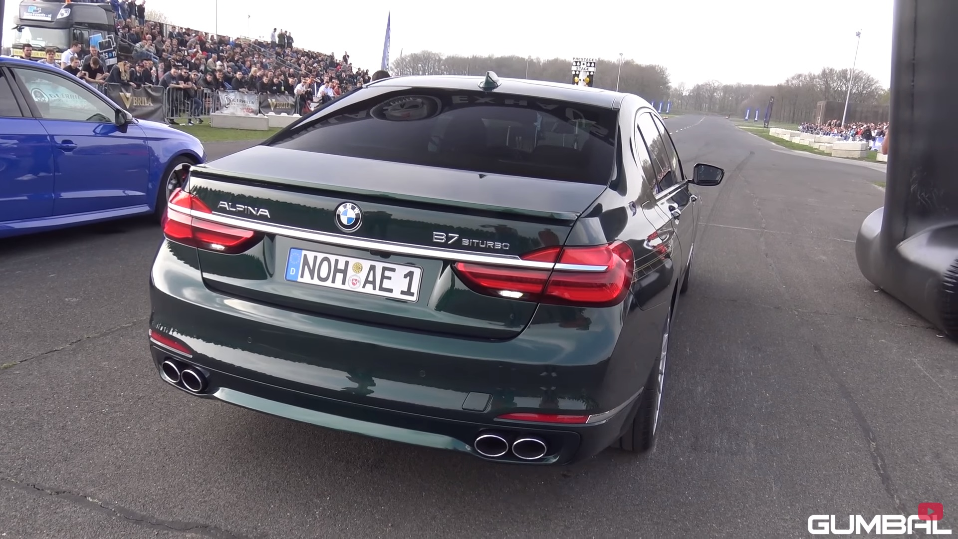 Sleduj video! BMW Alpina B7 BiTurbo vs. Mercedes-Benz C63S AMG vs. Audi RS6 Avant!