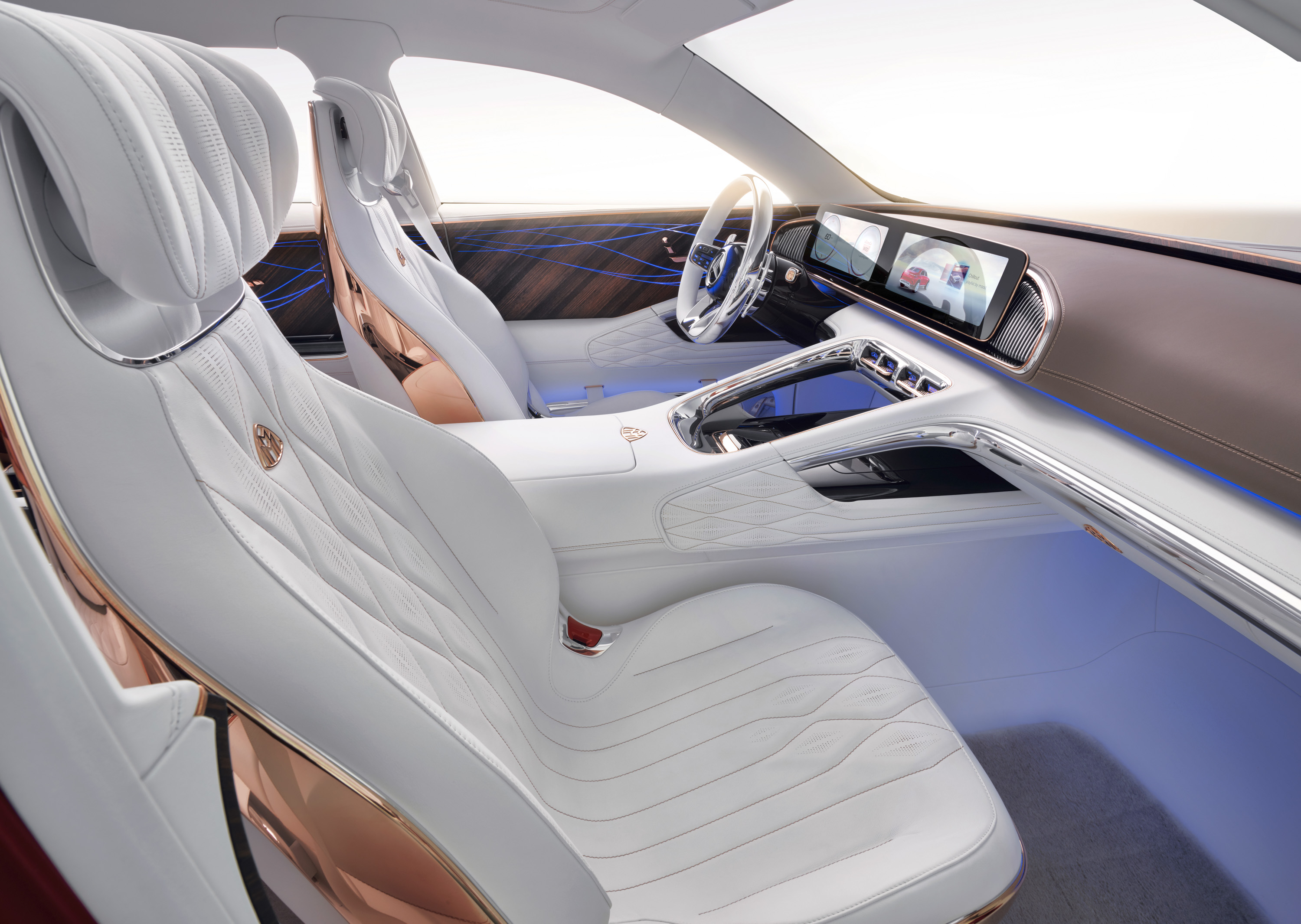 Luxury Car Vision >> The 2018 Vision Maybach Ultimate Luxury Concept Could Lend Dna To