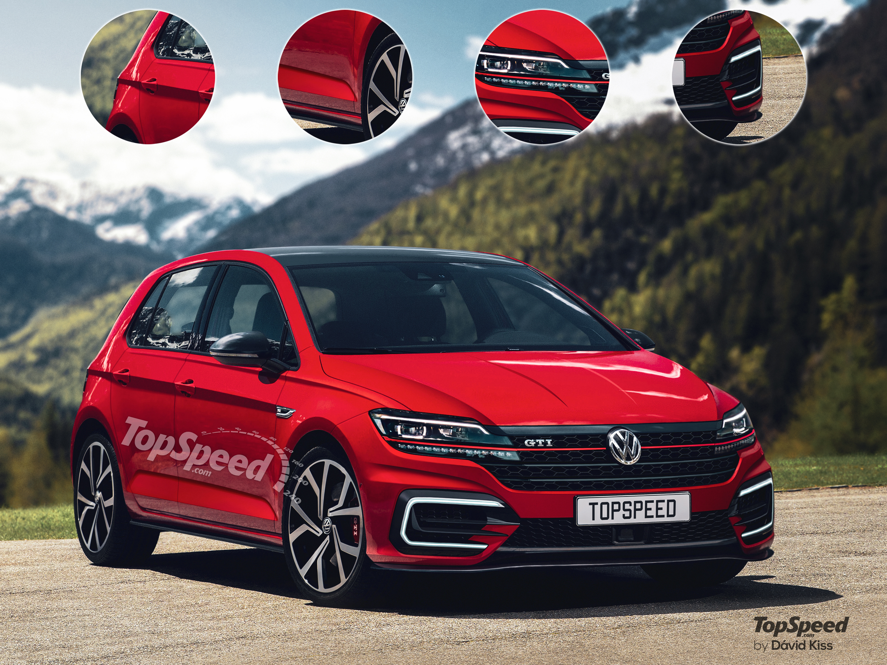 Volkswagen will introduce the eighth generation of Golf 2017 26
