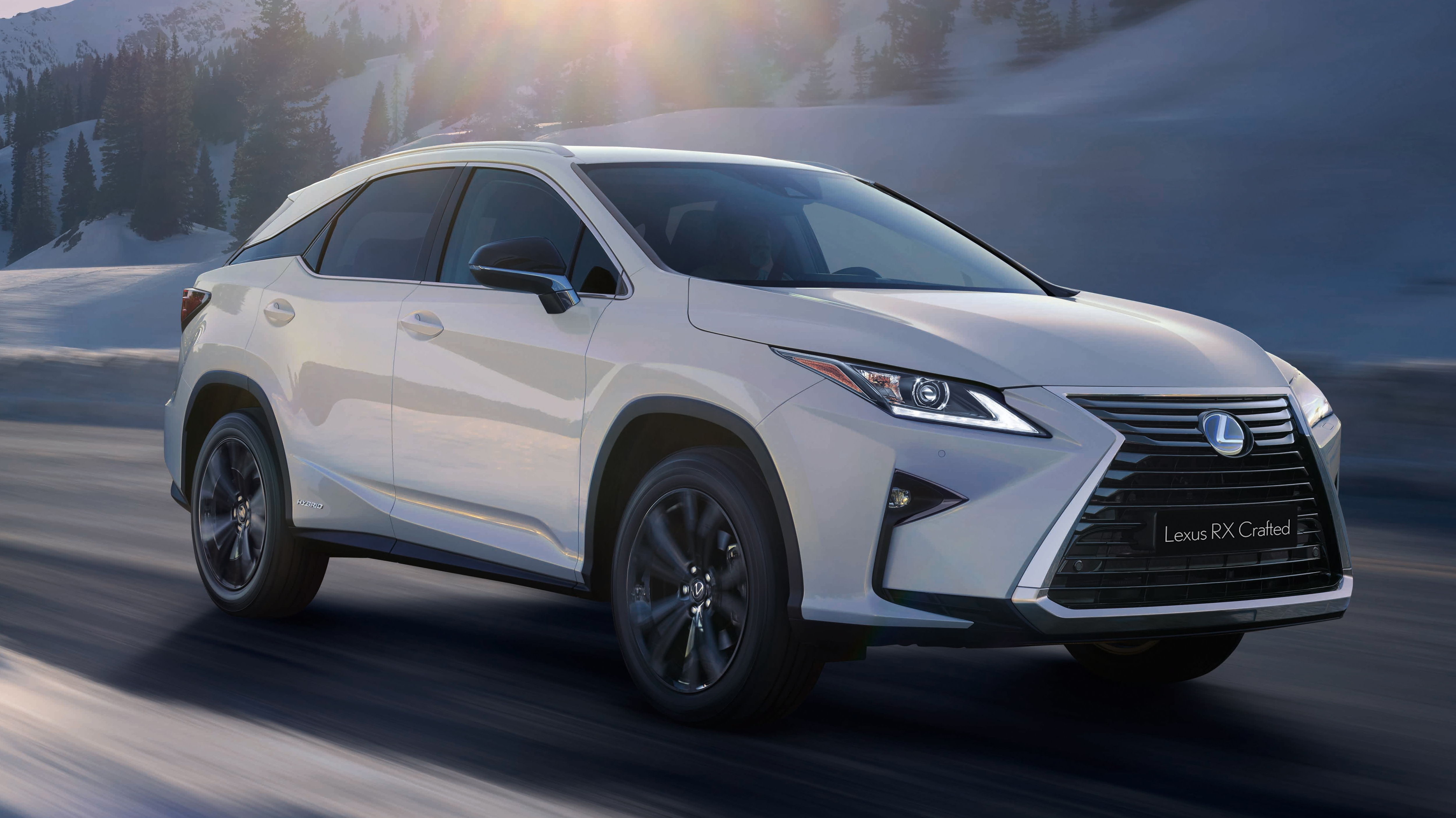 2018 lexus rx crafted pictures photos wallpapers top speed. Black Bedroom Furniture Sets. Home Design Ideas