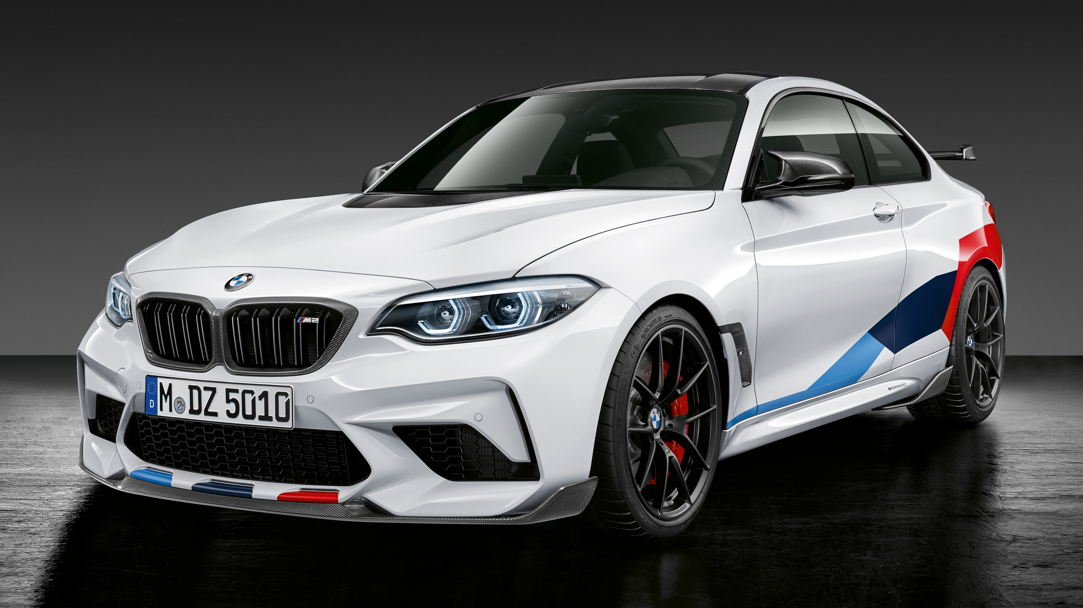 bmw m2 competition gets m performance parts top speed. Black Bedroom Furniture Sets. Home Design Ideas