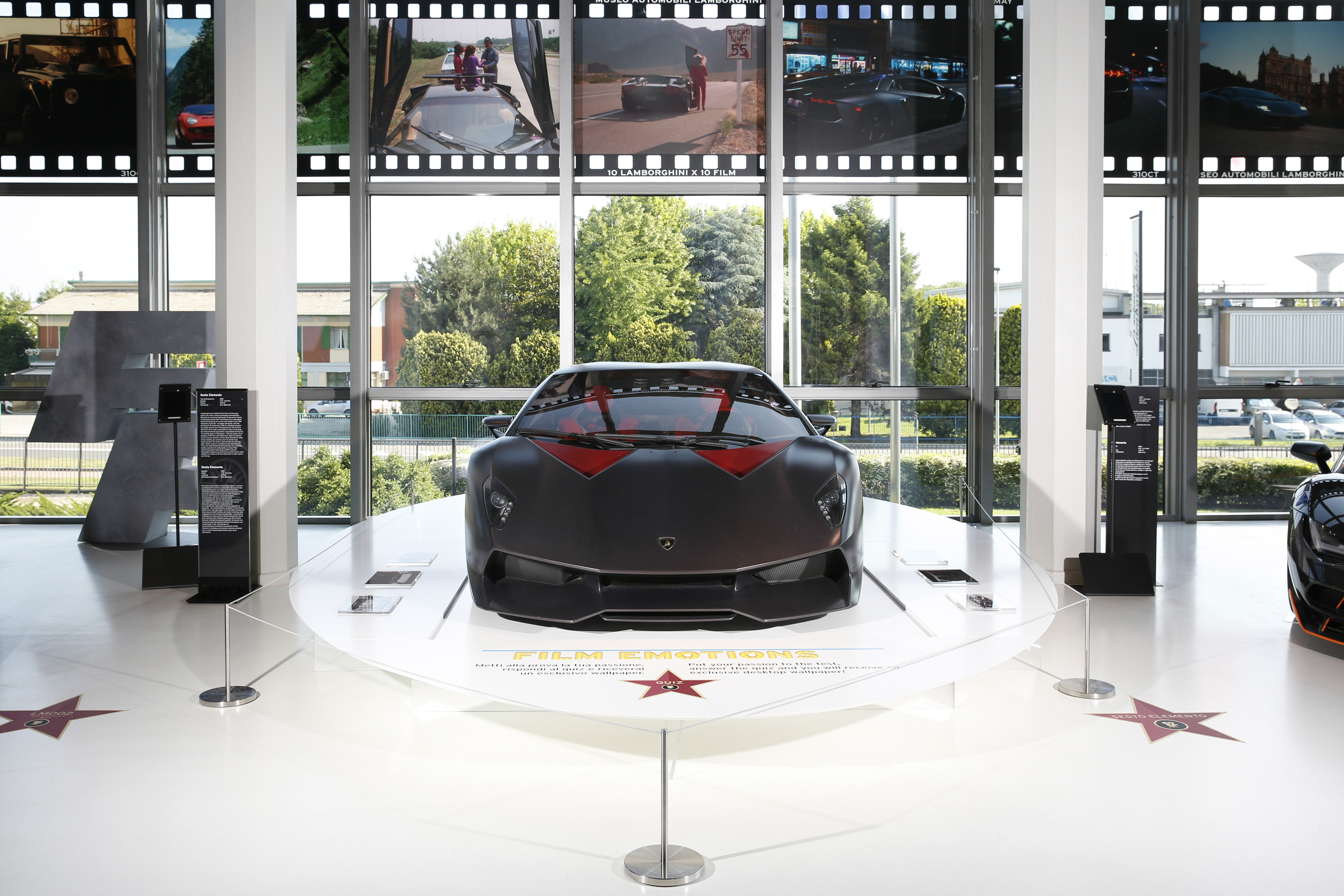 Lamborghini S Hollywood Cars Are Now On Display In Its Headquarters