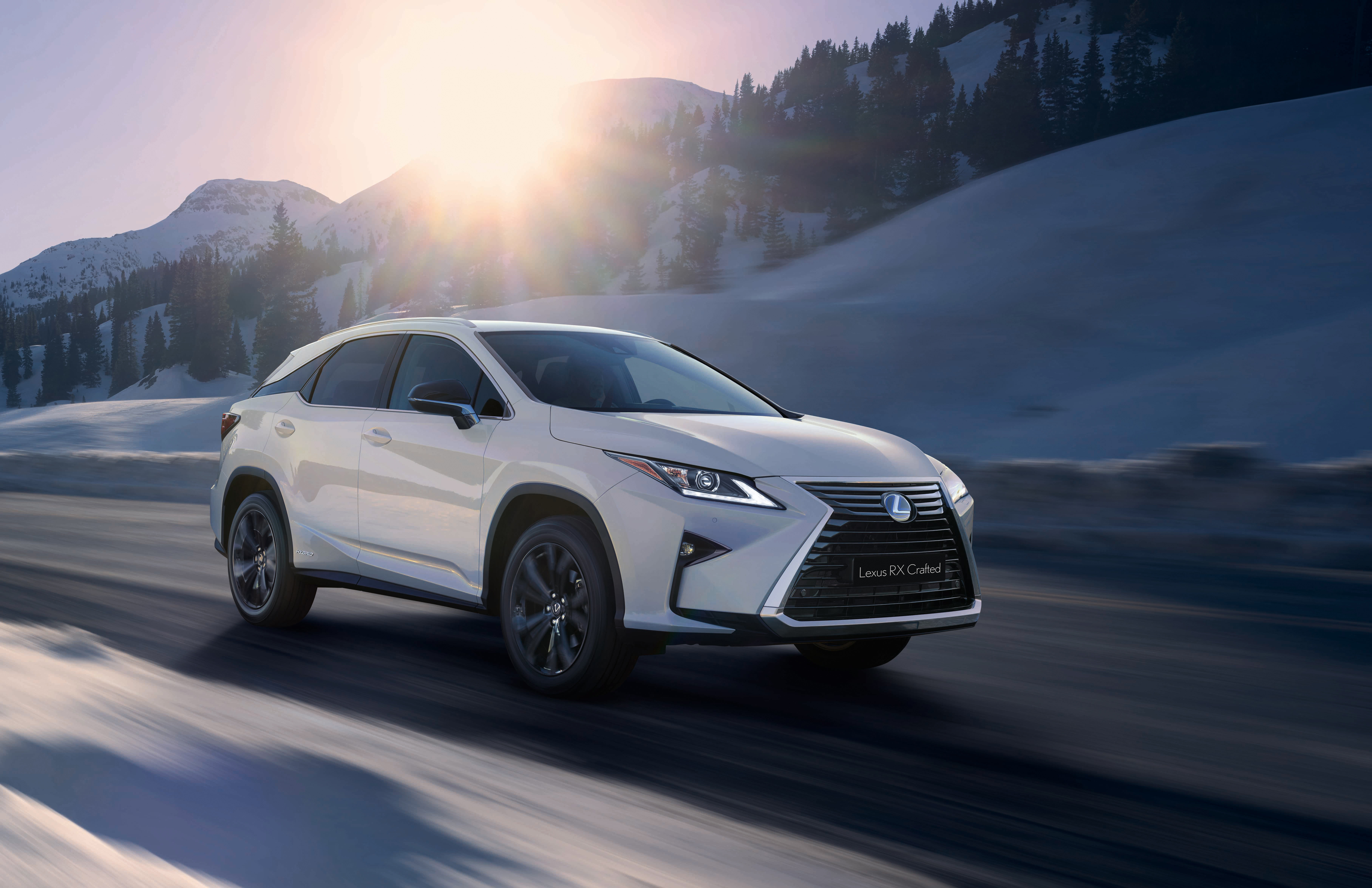 2018 Lexus Rx Crafted Top Speed